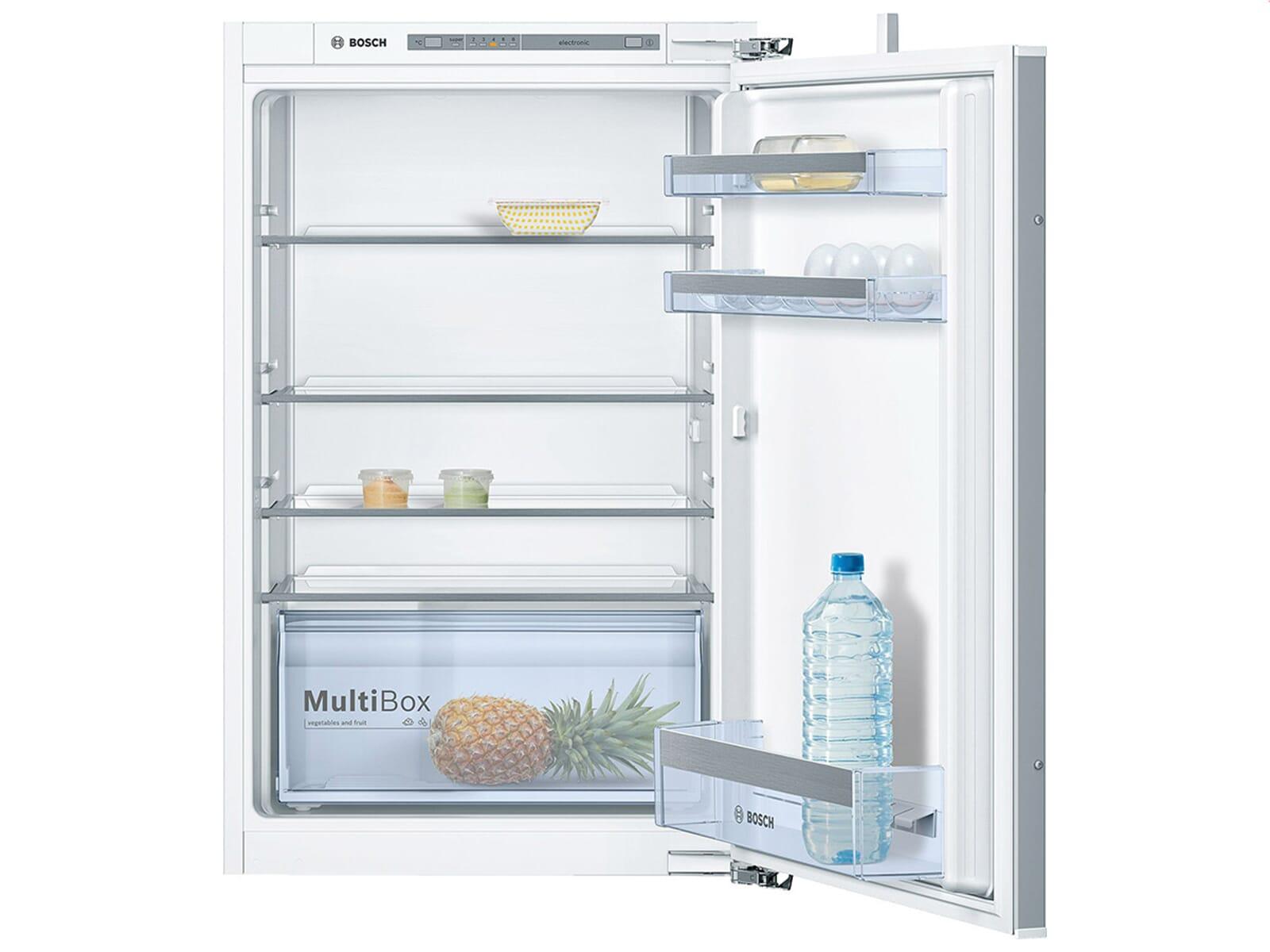 Bosch Kühlschrank Einbau Mit Festtürmontage : Bosch kir vf einbaukühlschrank