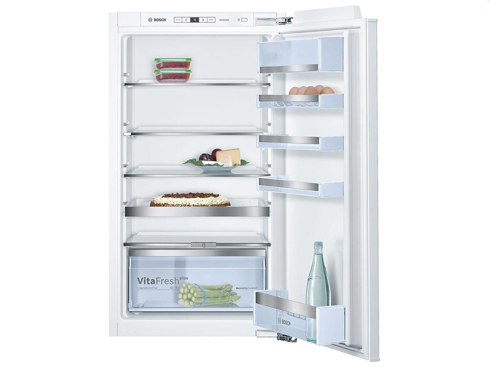 Bosch Kühlschrank Einbau Mit Festtürmontage : Bosch kir ad einbaukühlschrank