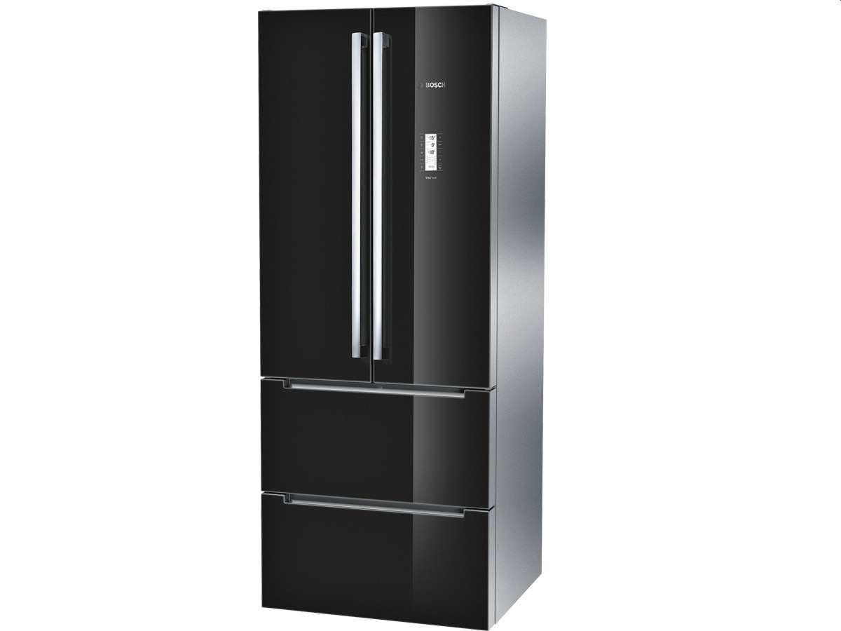 bosch kmf40sb20 french door k hl gefrier kombination schwarz hinter glas. Black Bedroom Furniture Sets. Home Design Ideas