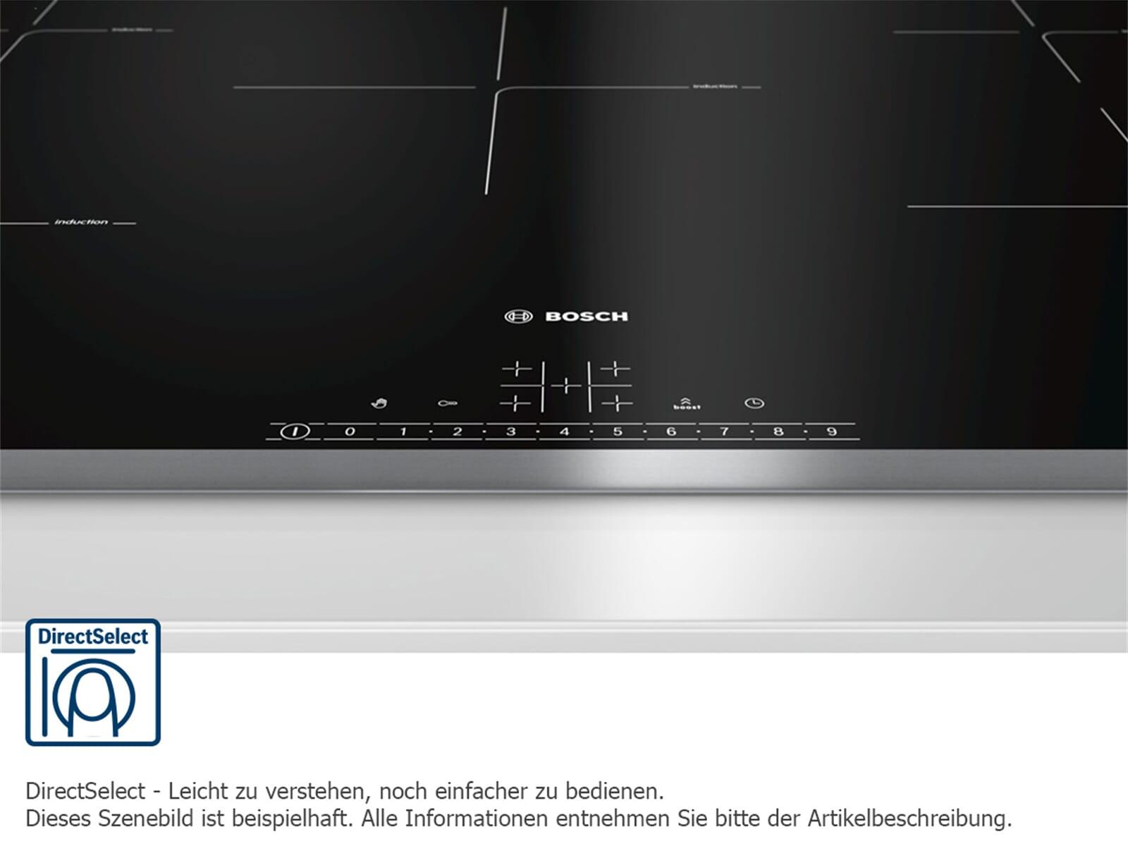 Bosch HBD612LS80 Set Backofen HBA517BS0 + Glaskeramikkochfeld PKC845FP1D