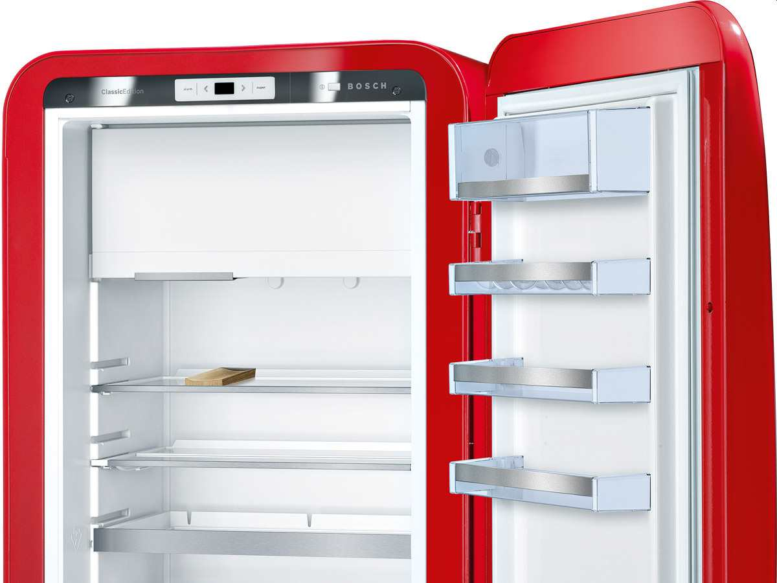 Bosch KSL20AR30 Standkühlschrank rot