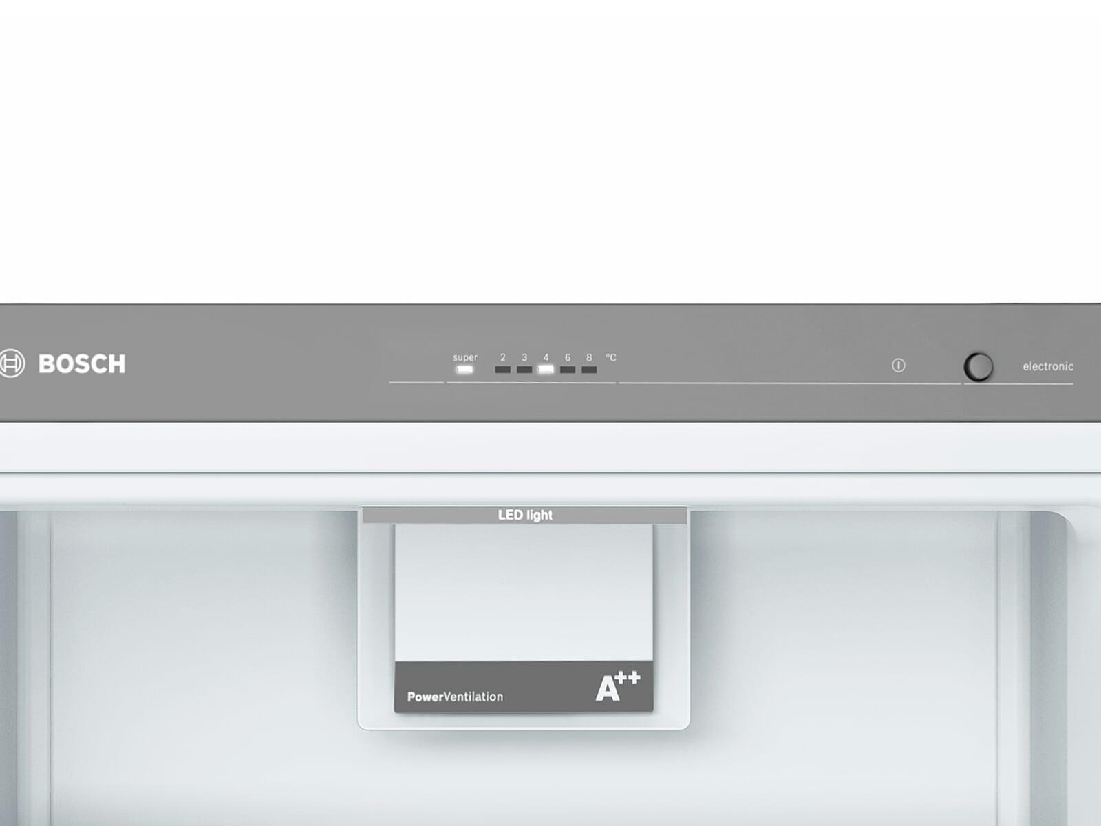 Bosch KSV36VBEP Standkühlschrank Schwarz