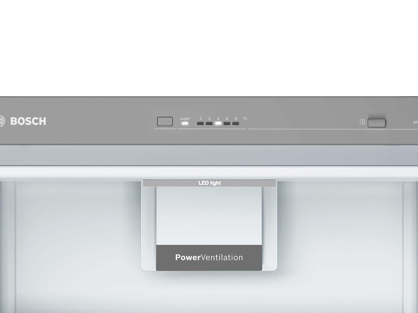 Bosch KSV36VLEP Standkühlschrank Edelstahl