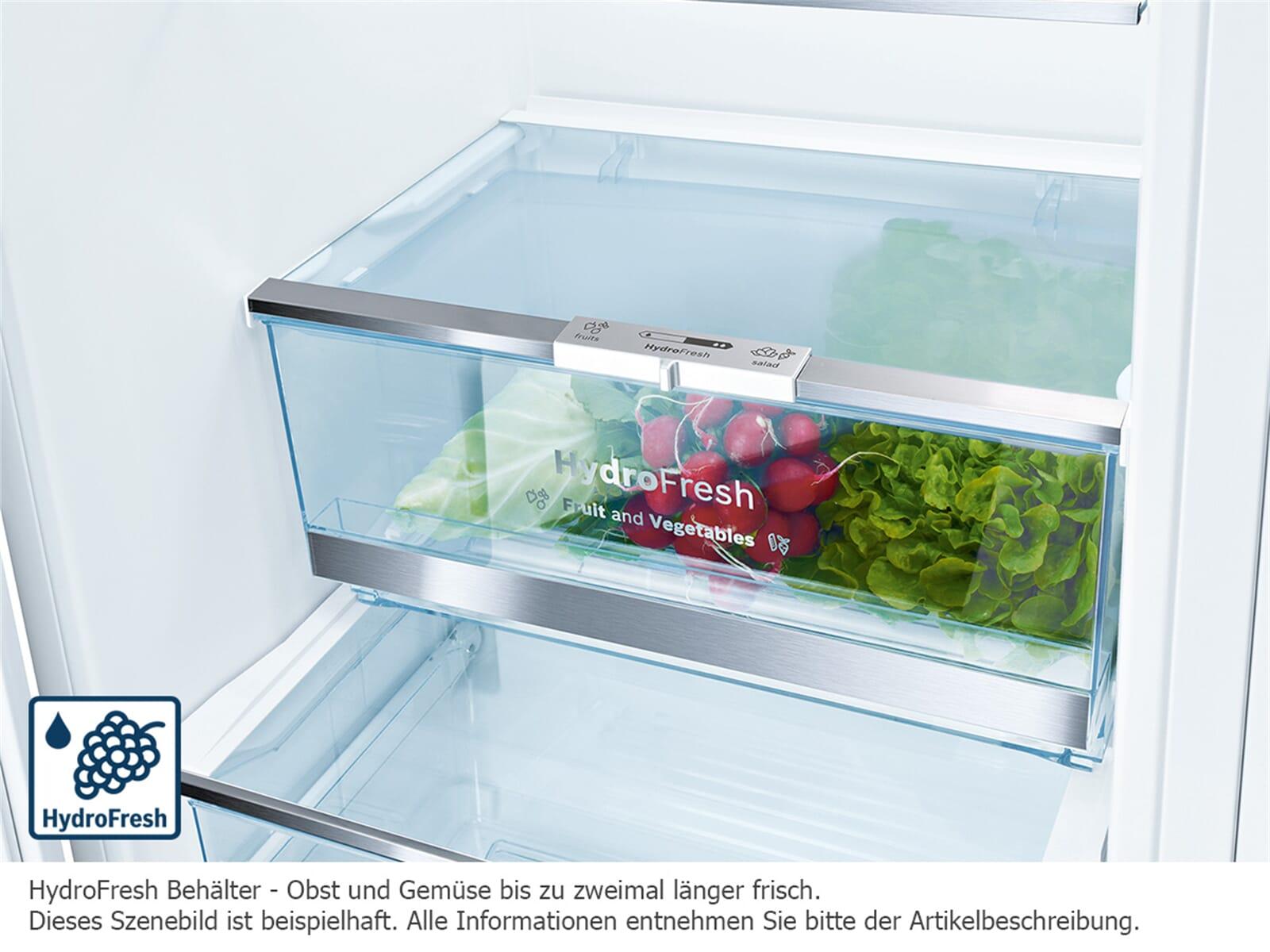 Bosch Kühlschrank No Frost : Bosch kgn sm stand kühl gefrier kombination edelstahl hinter glas