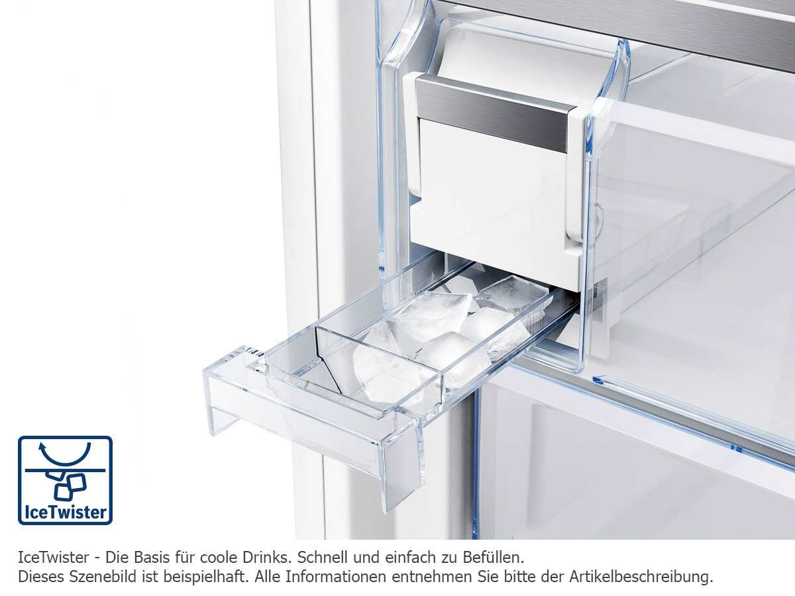 Bosch GSN36AIEP Standgefrierschrank Edelstahl