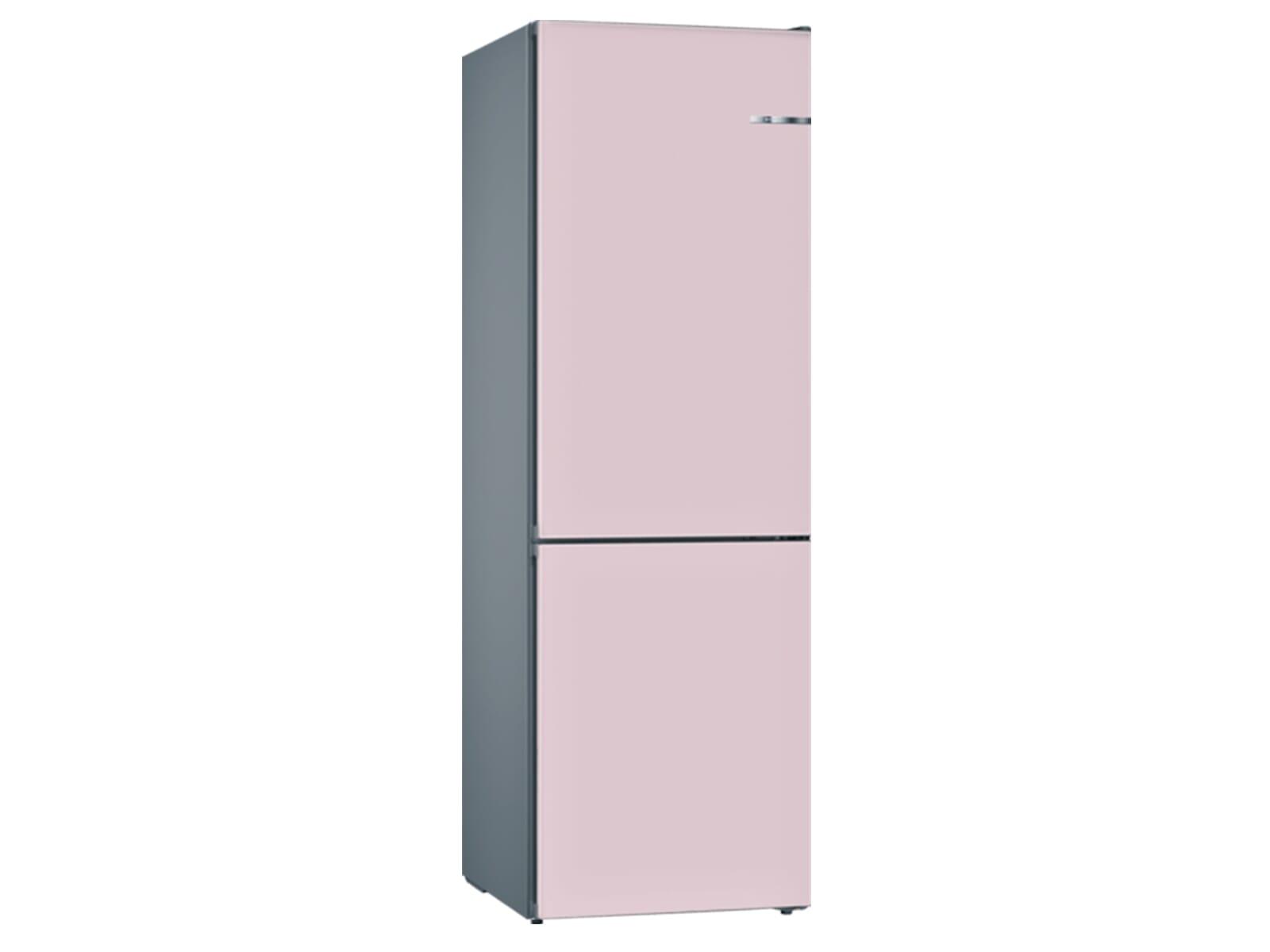 Bosch Vario Style Kühlschrank : Bosch kvn ip a stand kühl gefrier kombination edelstahl pastellrosé