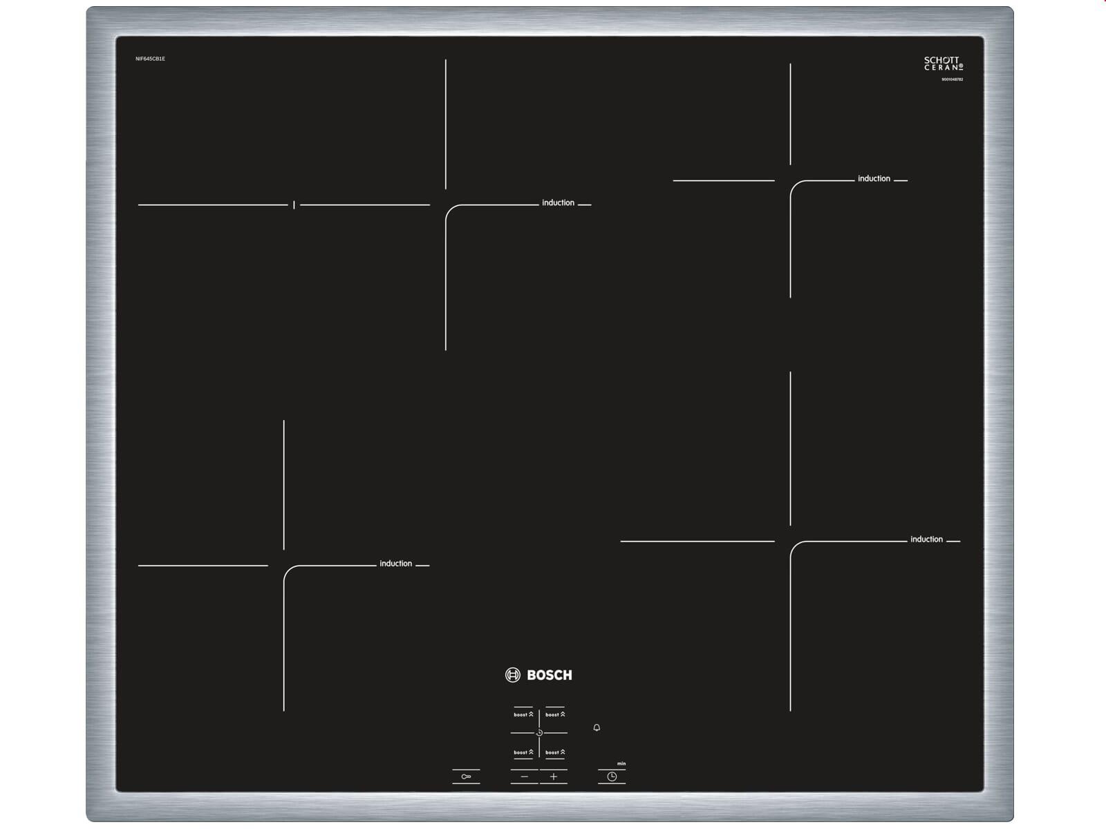 Bosch HND71PR56 Set Einbauherd HEB73D151  + Induktionskochfeld NIF645CB1E