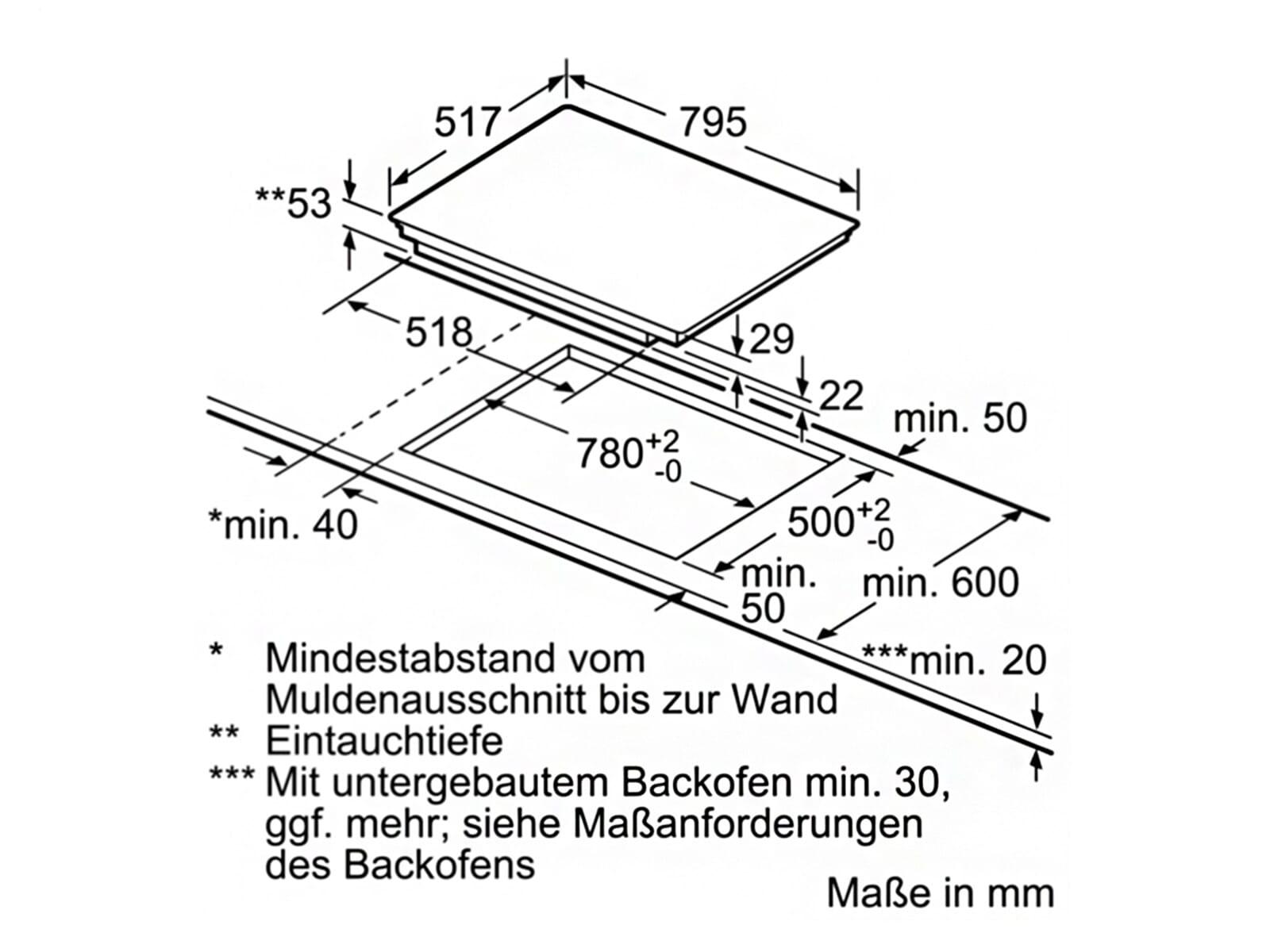 Bosch Pie845bb1e Induktionskochfeld Autark