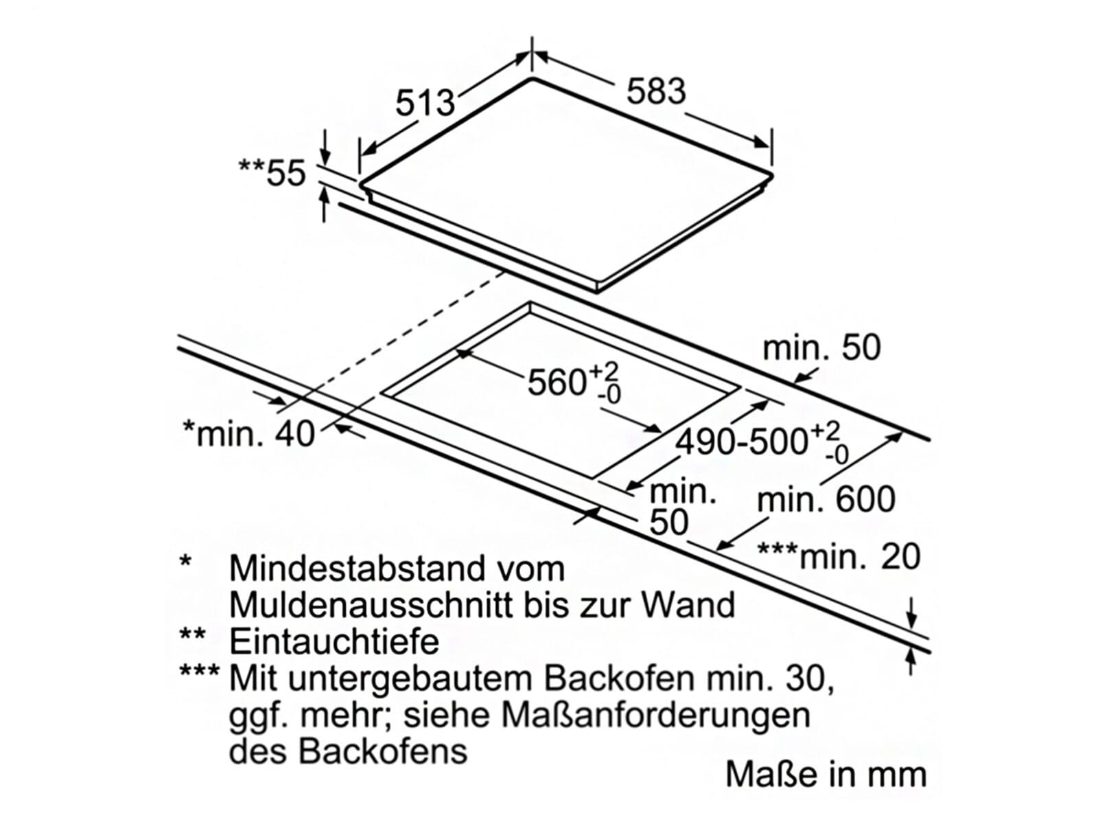 Bosch Pif645bb1e Induktionskochfeld Autark