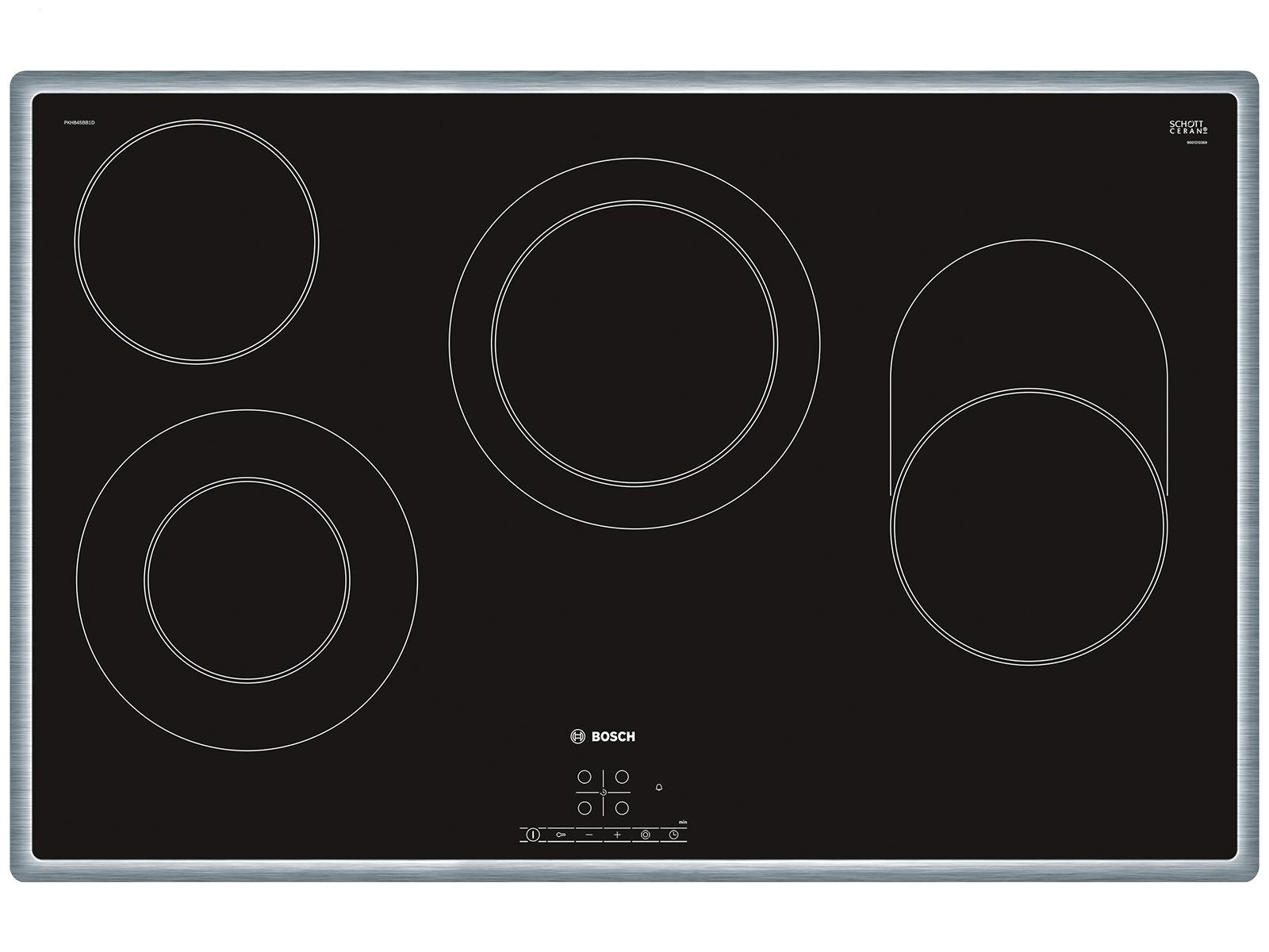 bosch pkh845bb1d glaskeramikkochfeld autark. Black Bedroom Furniture Sets. Home Design Ideas