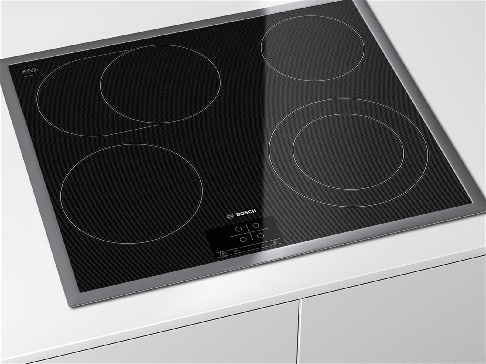 bosch pkn645d17 glaskeramik kochfeld autark. Black Bedroom Furniture Sets. Home Design Ideas