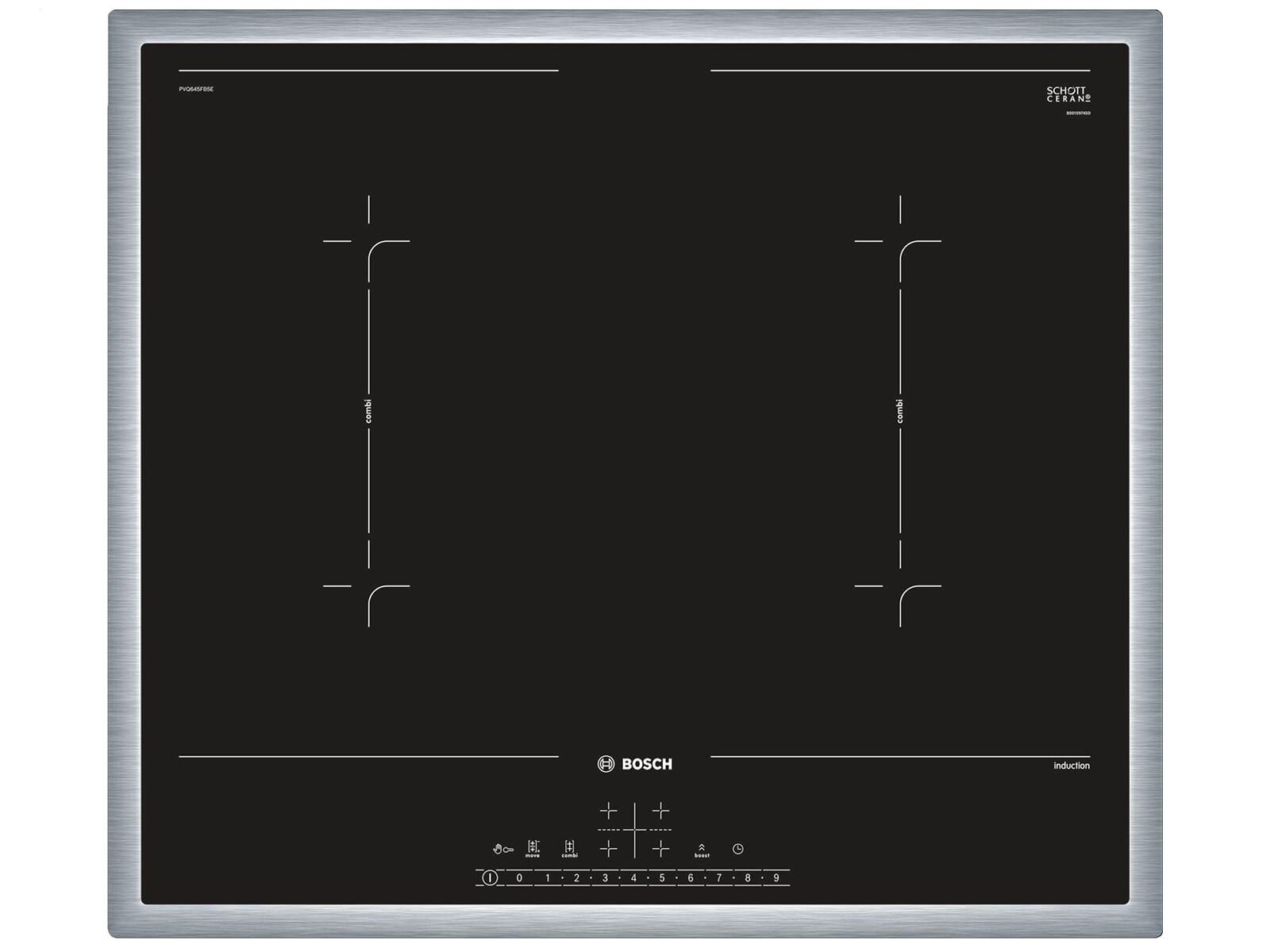 Siemens HB674GBS1 Pyrolyse Backofen Edelstahl + Bosch