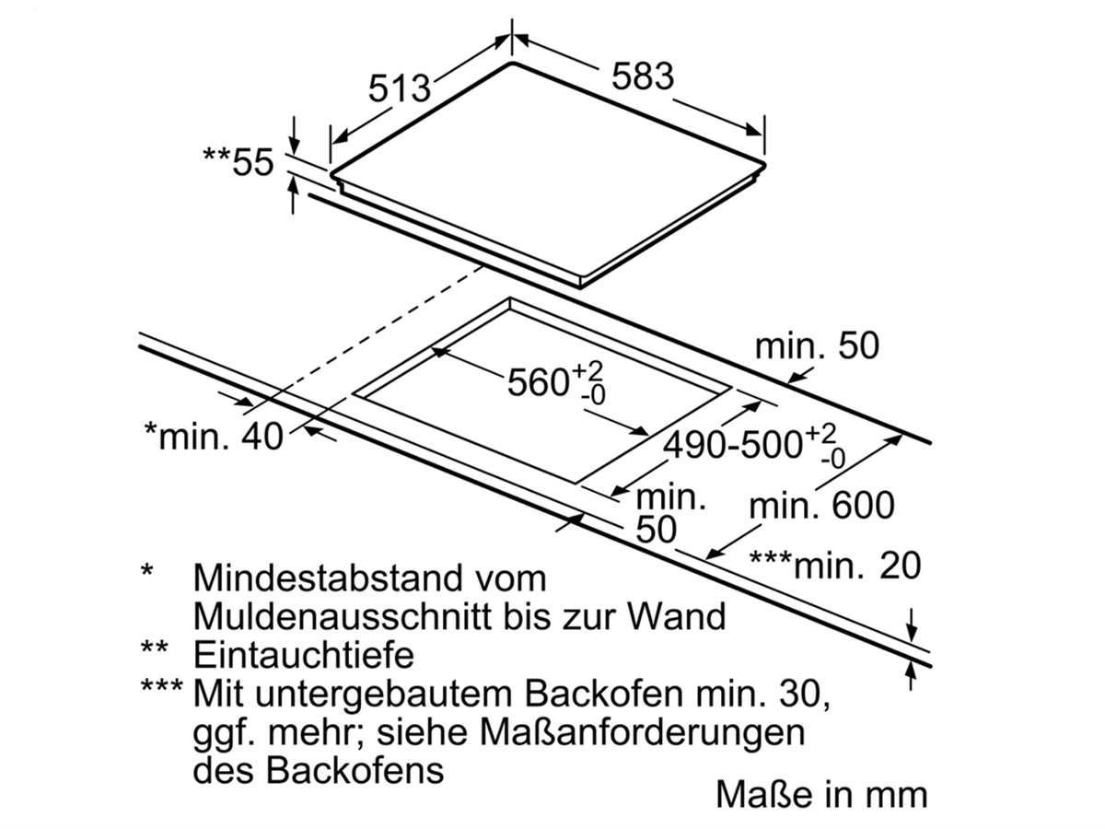 Bosch Set Pyrolyse Backofen HBA578BS0 + Induktionskochfeld PVQ645FB5E