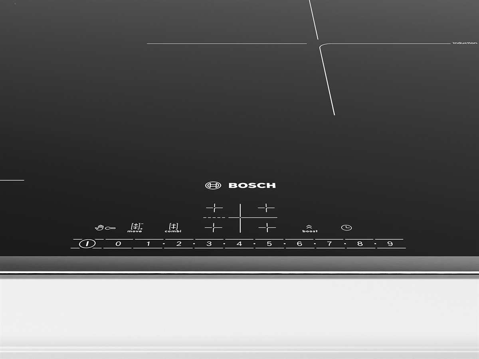 Bosch HBD616LS81 Set Backofen HBA517BS0 + Induktionskochfeld PVS845FB5E