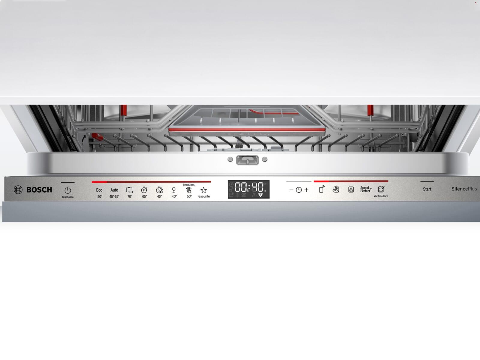 Bosch SBD6ECX57E Vollintegrierbarer Einbaugeschirrspüler XXL