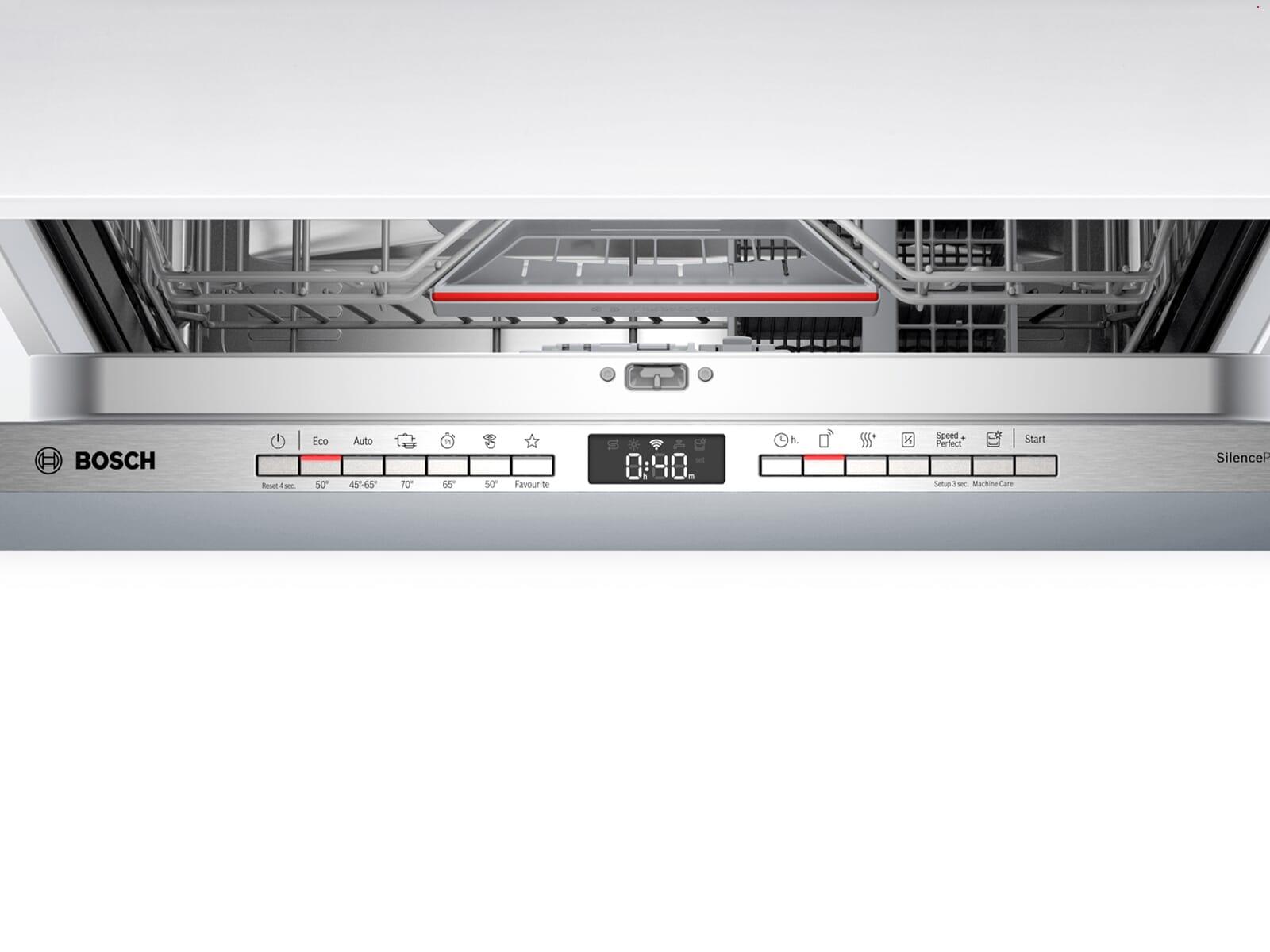 Bosch SBV4HAX48E Vollintegrierbarer Einbaugeschirrspüler XXL