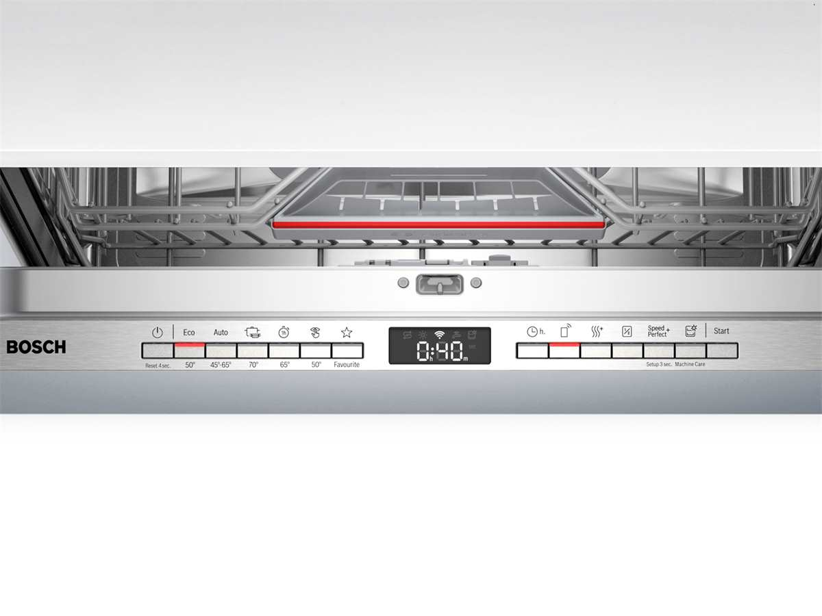 Bosch SBV4HCX48E Vollintegrierbarer Einbaugeschirrspüler XXL