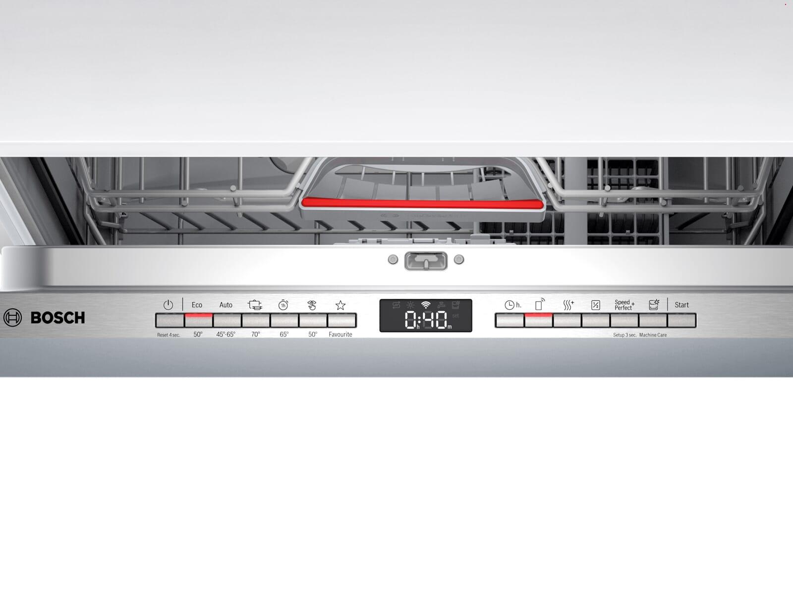 Bosch SBV4HTX31E Vollintegrierbarer Einbaugeschirrspüler XXL