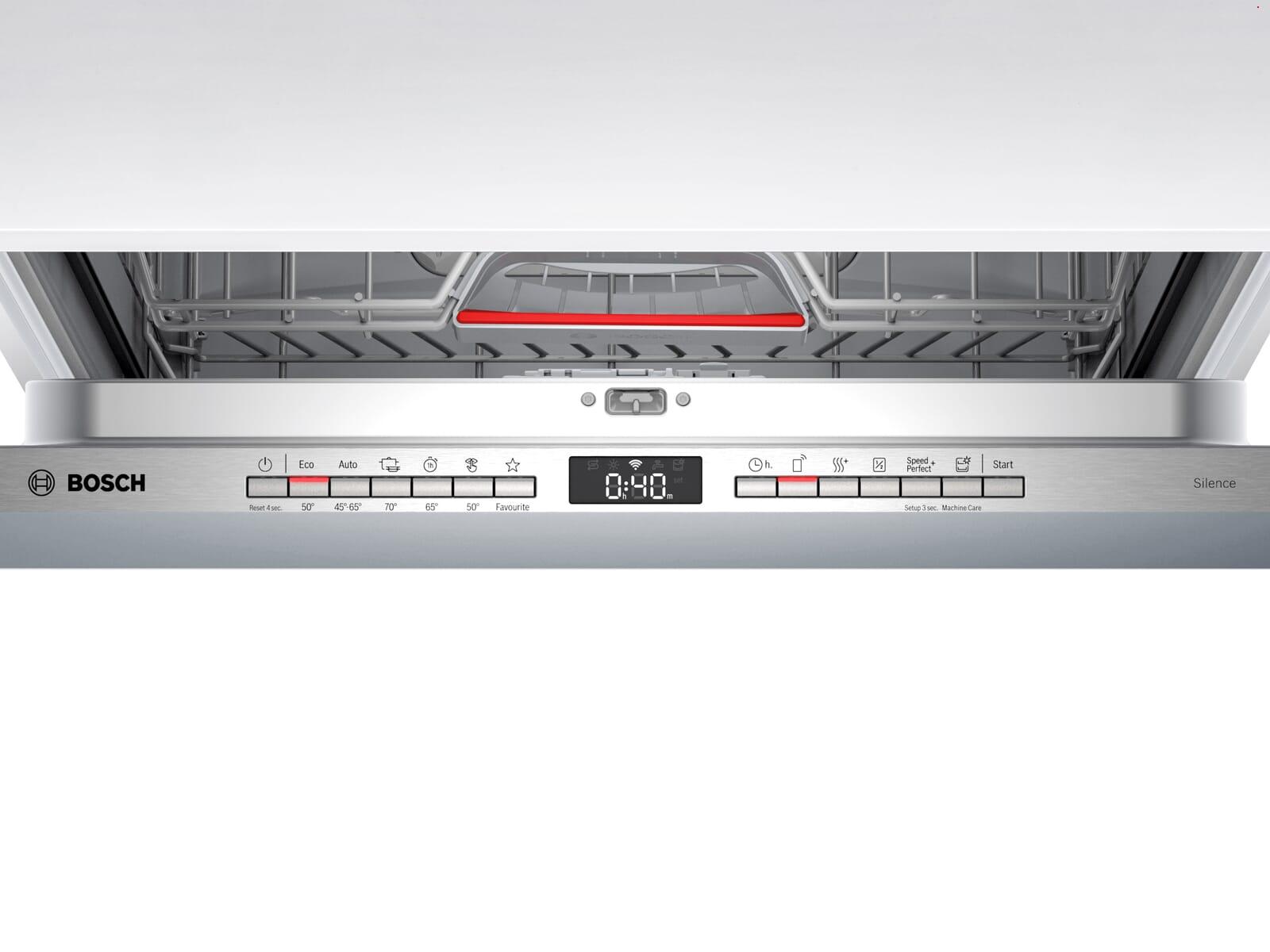 Bosch SBV4HVX31E Vollintegrierbarer Einbaugeschirrspüler XXL