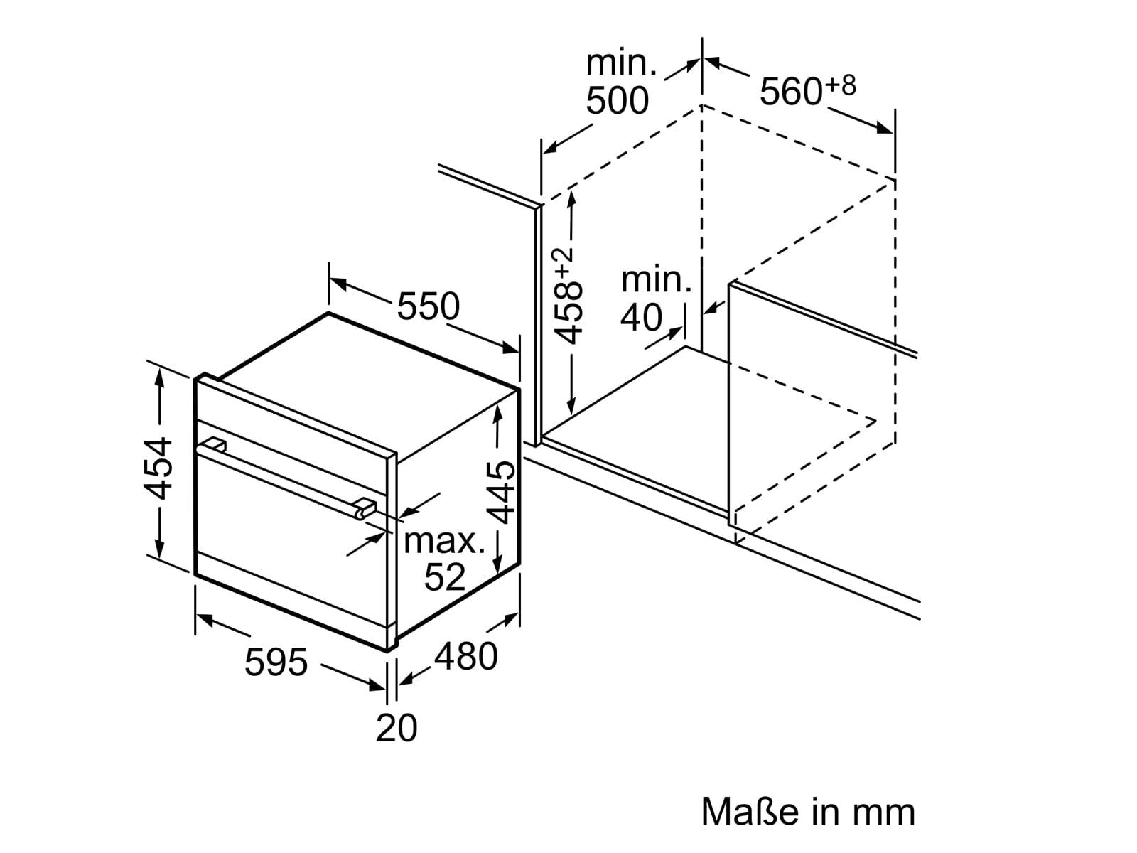 Bosch SKE52M75EU Einbau-Modular Geschirrspüler