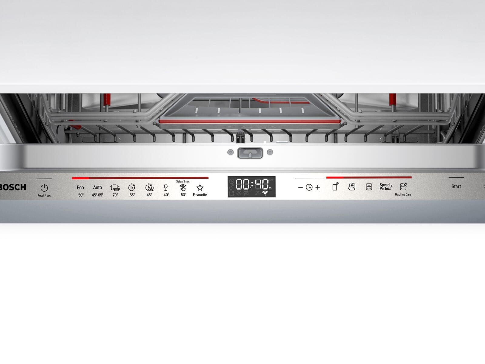 Bosch SMD6ECX57E Vollintegrierbarer Einbaugeschirrspüler