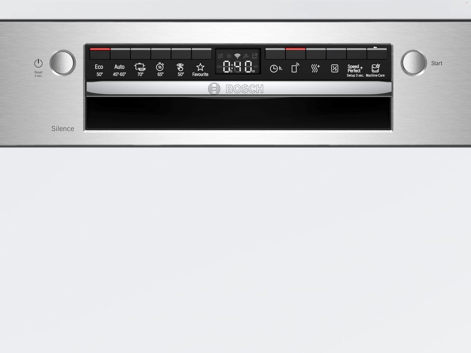 Bosch SMI4HTS31E Teilintegrierbarer Einbaugeschirrspüler