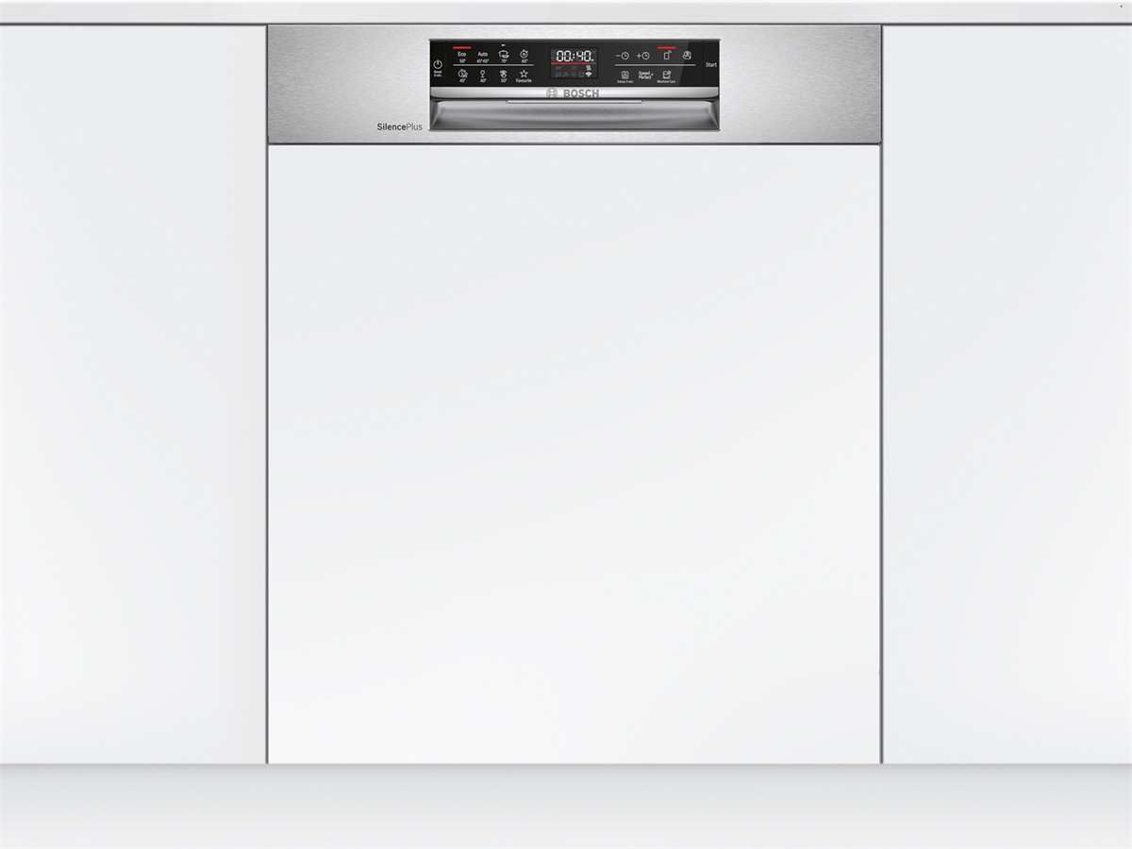 Bosch SMI6ECS57E Teilintegrierbarer Einbaugeschirrspüler