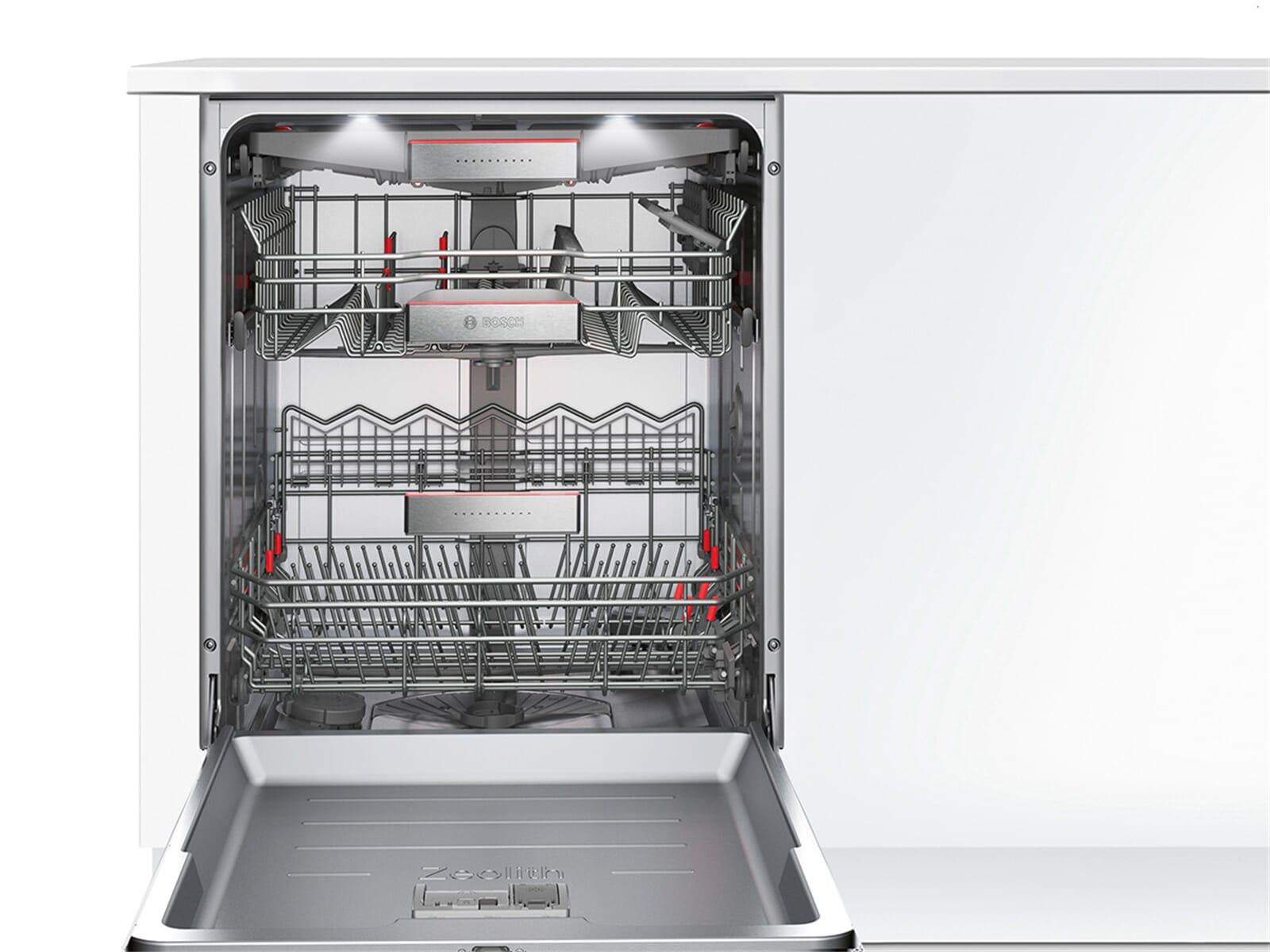 Bosch SMI88TS36E Vollintegrierbarer Einbaugeschirrspüler