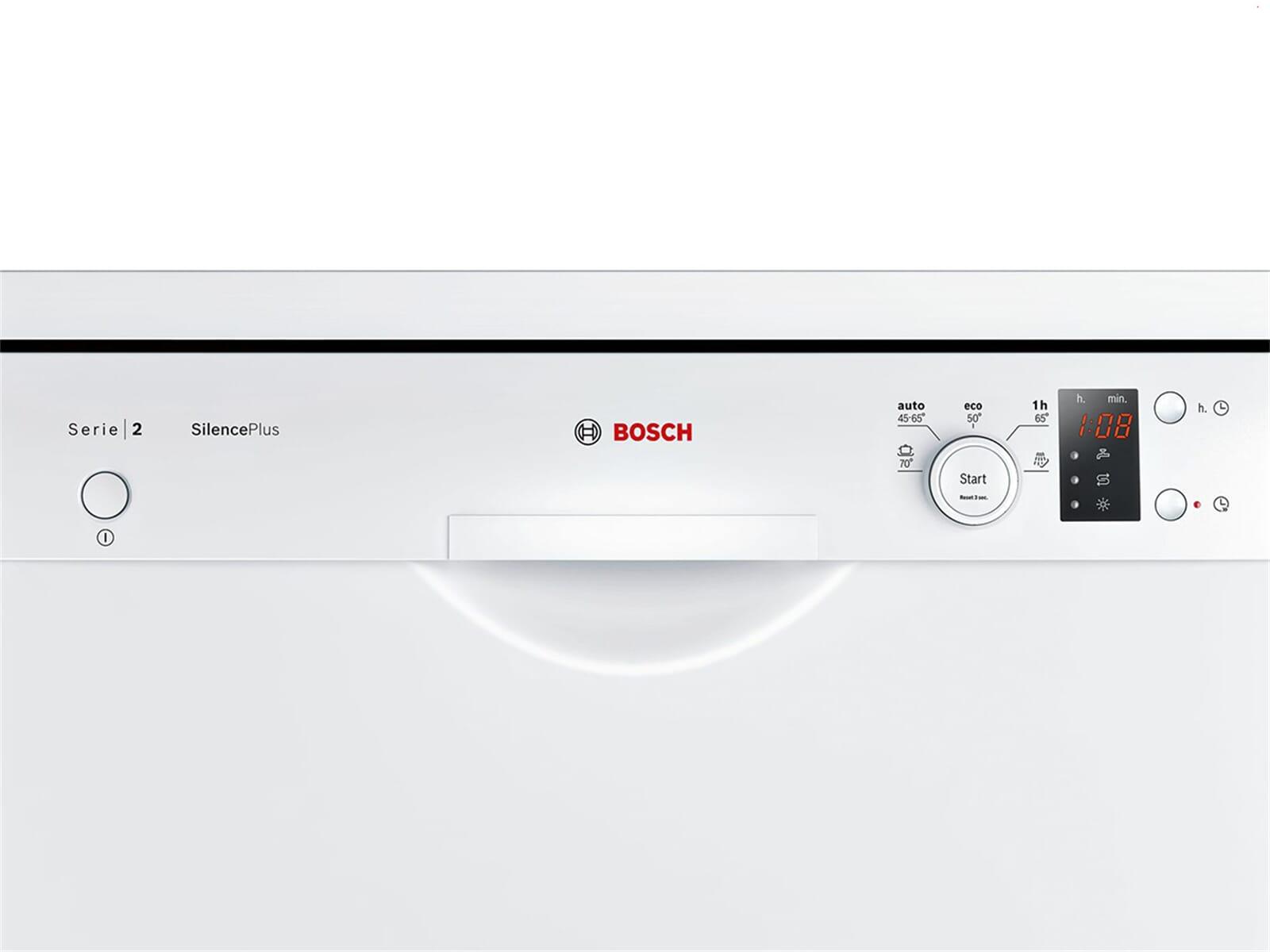 Bosch SMS25AW00E Standgeschirrspüler Weiß