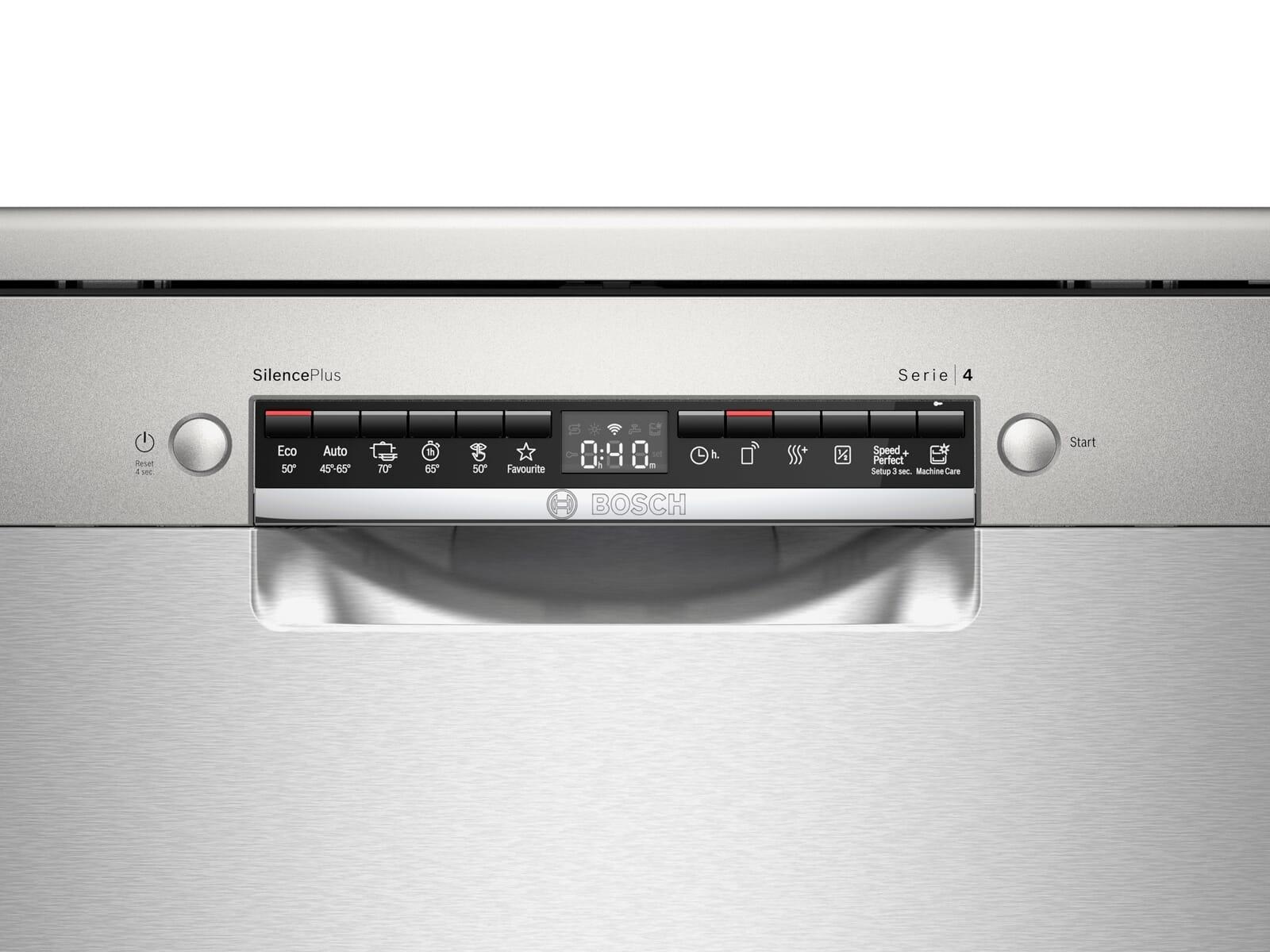 Bosch SMS4HCI48E Standgeschirrspüler Edelstahl
