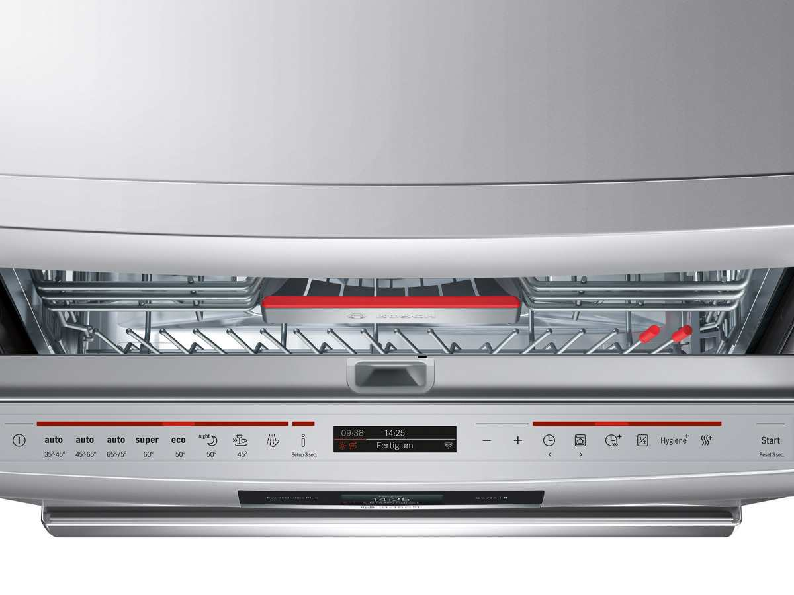 Bosch sms ti e standgeschirrspüler silver inox