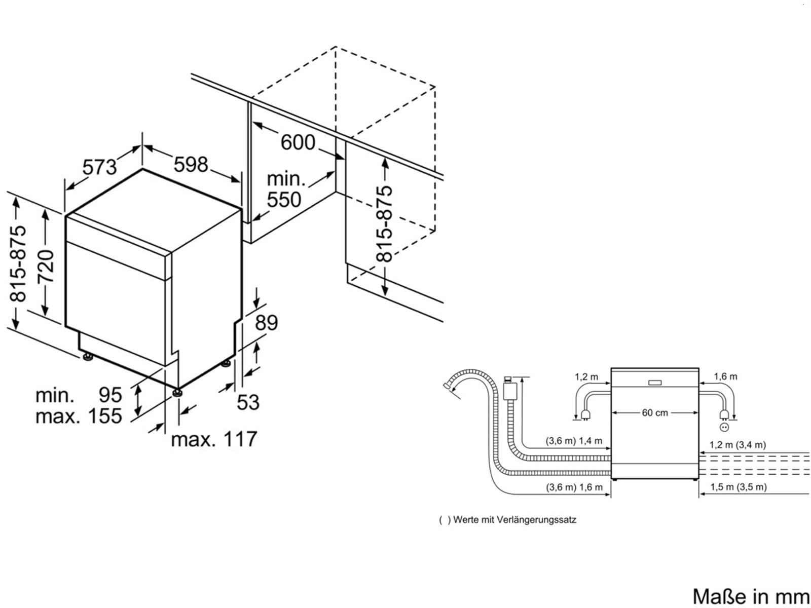 montageanleitung bosch geschirrsp ler g nstige k che mit e ger ten. Black Bedroom Furniture Sets. Home Design Ideas