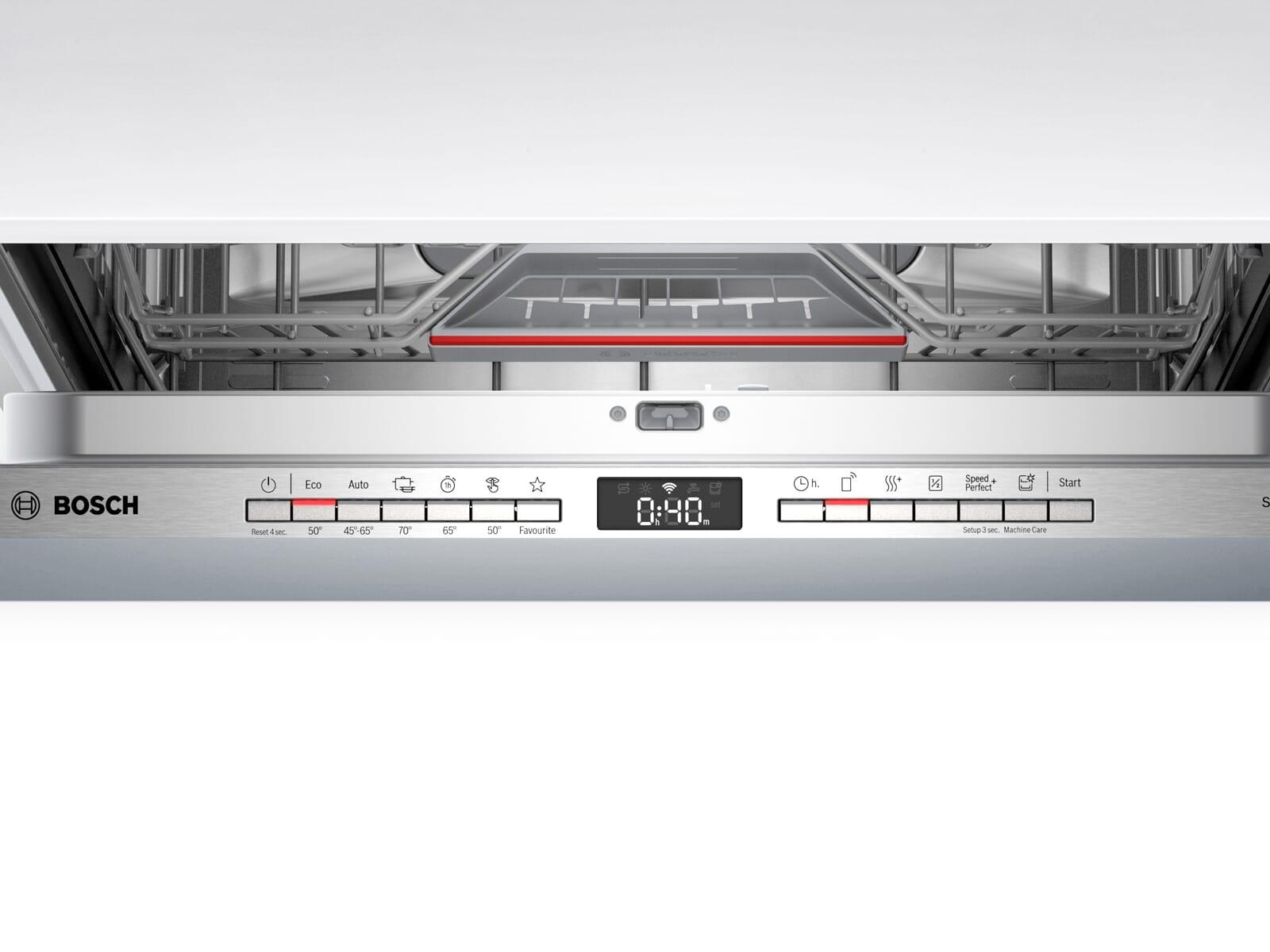 Bosch SMV4HCX48E Vollintegrierbarer Einbaugeschirrspüler