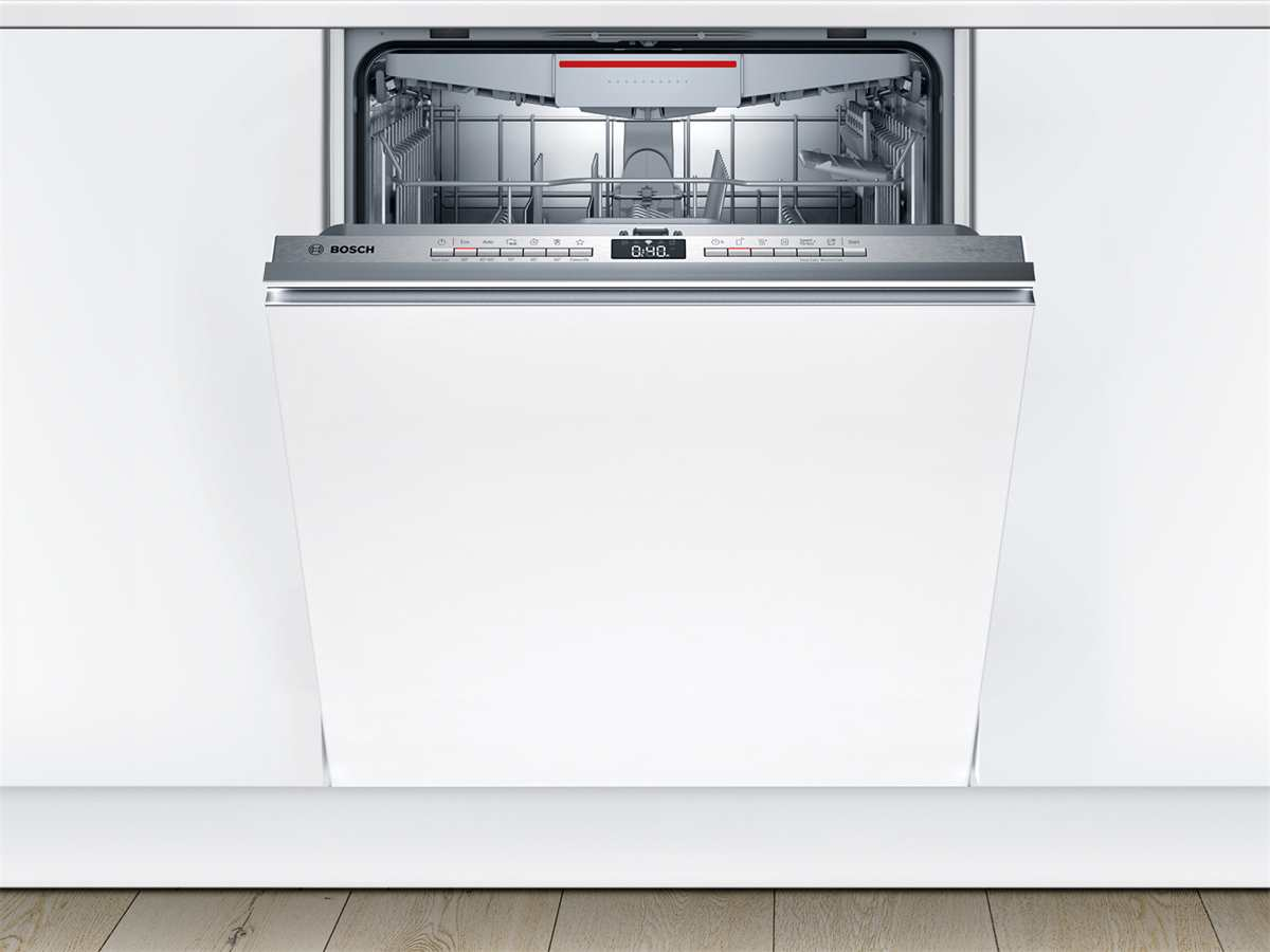 Bosch SMV4HVX31E Vollintegrierbarer Einbaugeschirrspüler