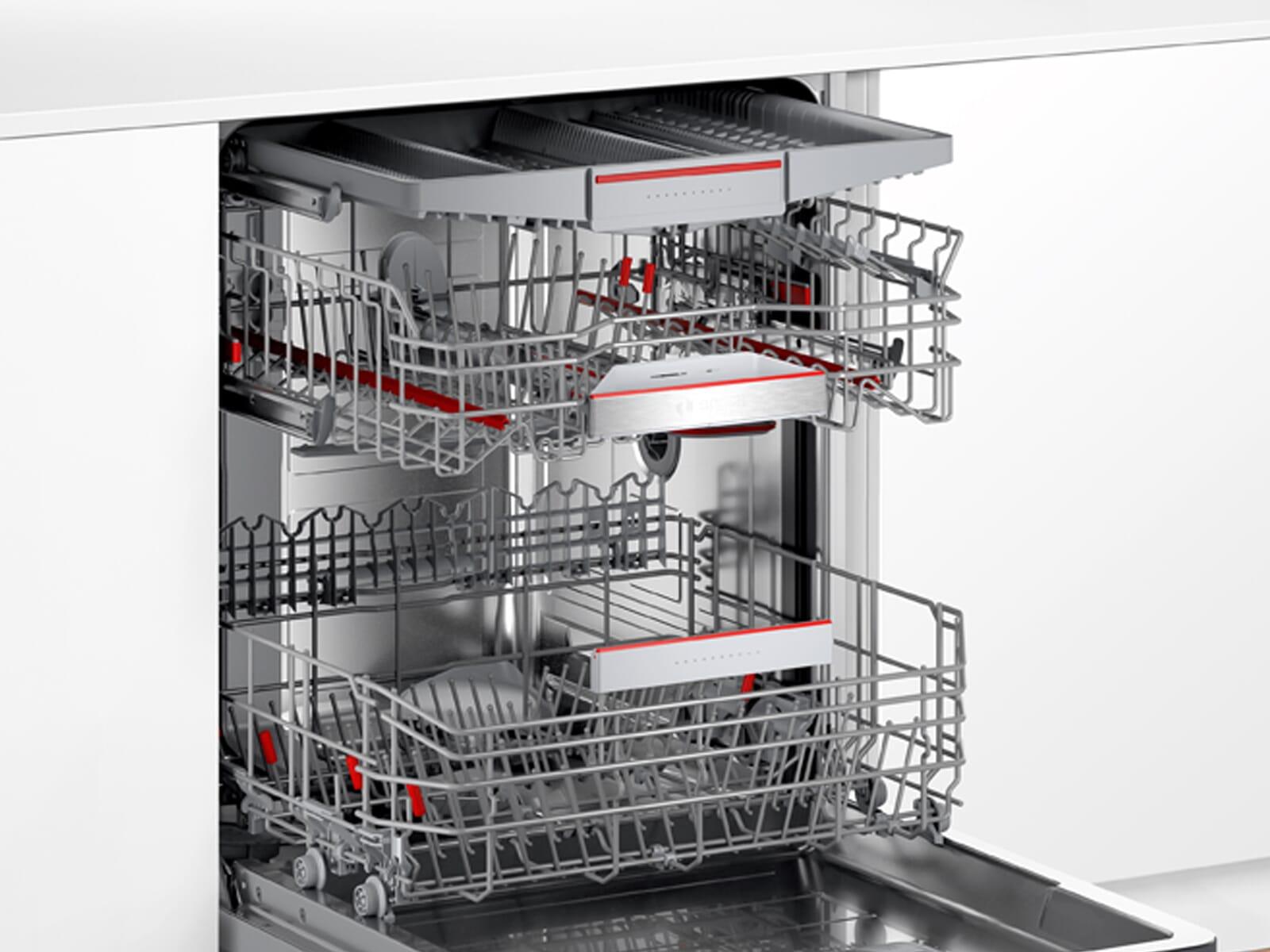 Bosch SMV6ZCX49E Vollintegrierbarer Einbaugeschirrspüler