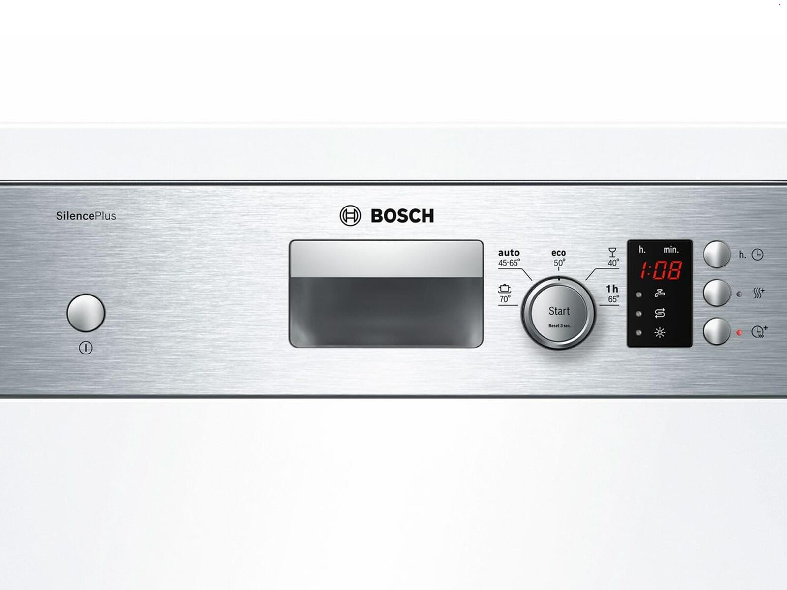Bosch SPI25CS03E Teilintegrierbarer Einbaugeschirrspüler