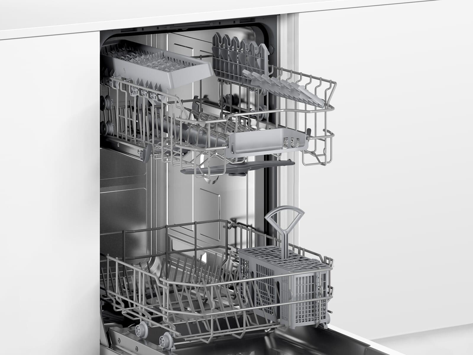 Bosch SPI2IKS10E Teilintegrierbarer Einbaugeschirrspüler