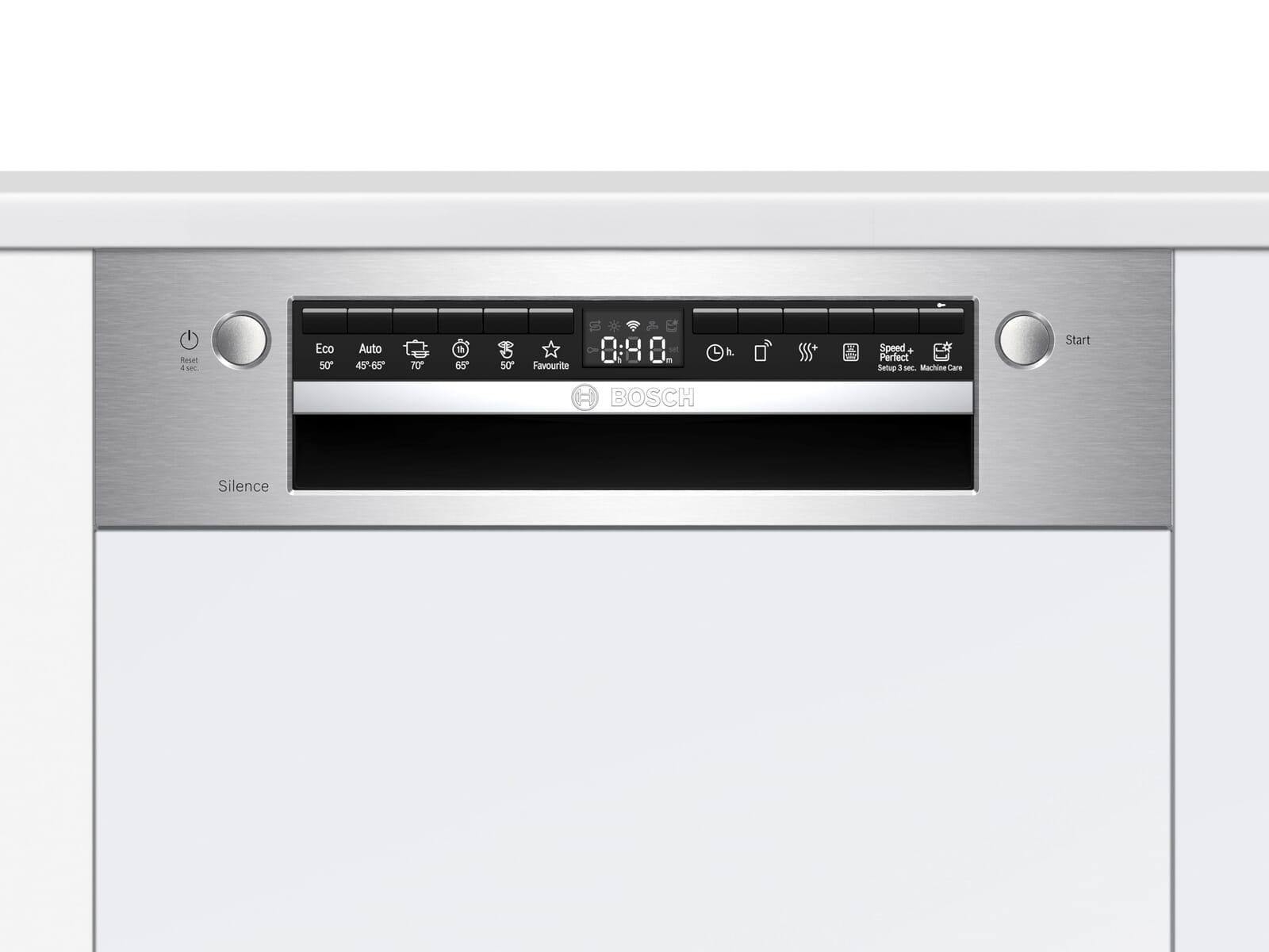 Bosch SPI4HKS53E Teilintegrierbarer Einbaugeschirrspüler