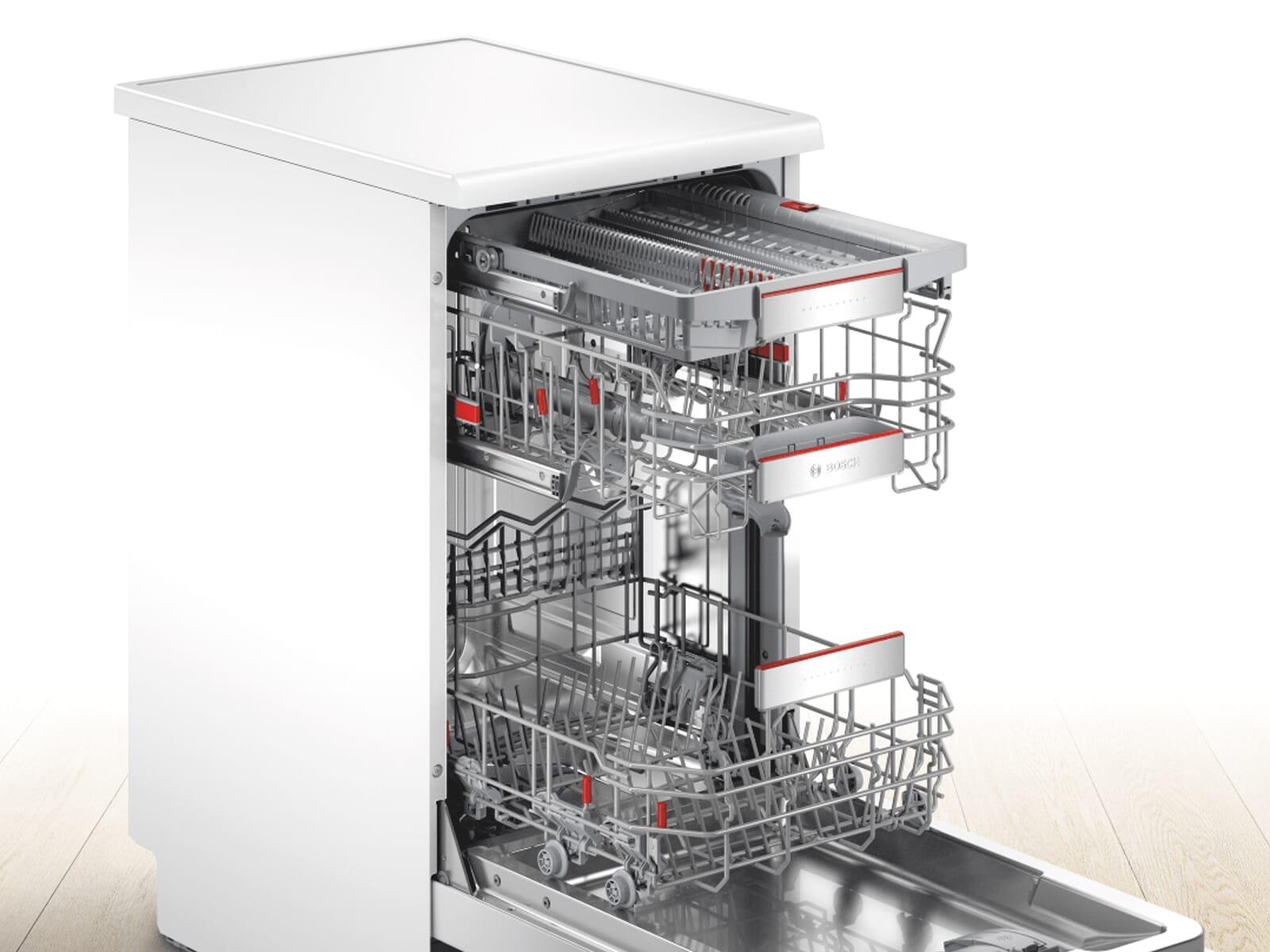 Bosch SPS6EMW23E Standgeschirrspüler Weiß