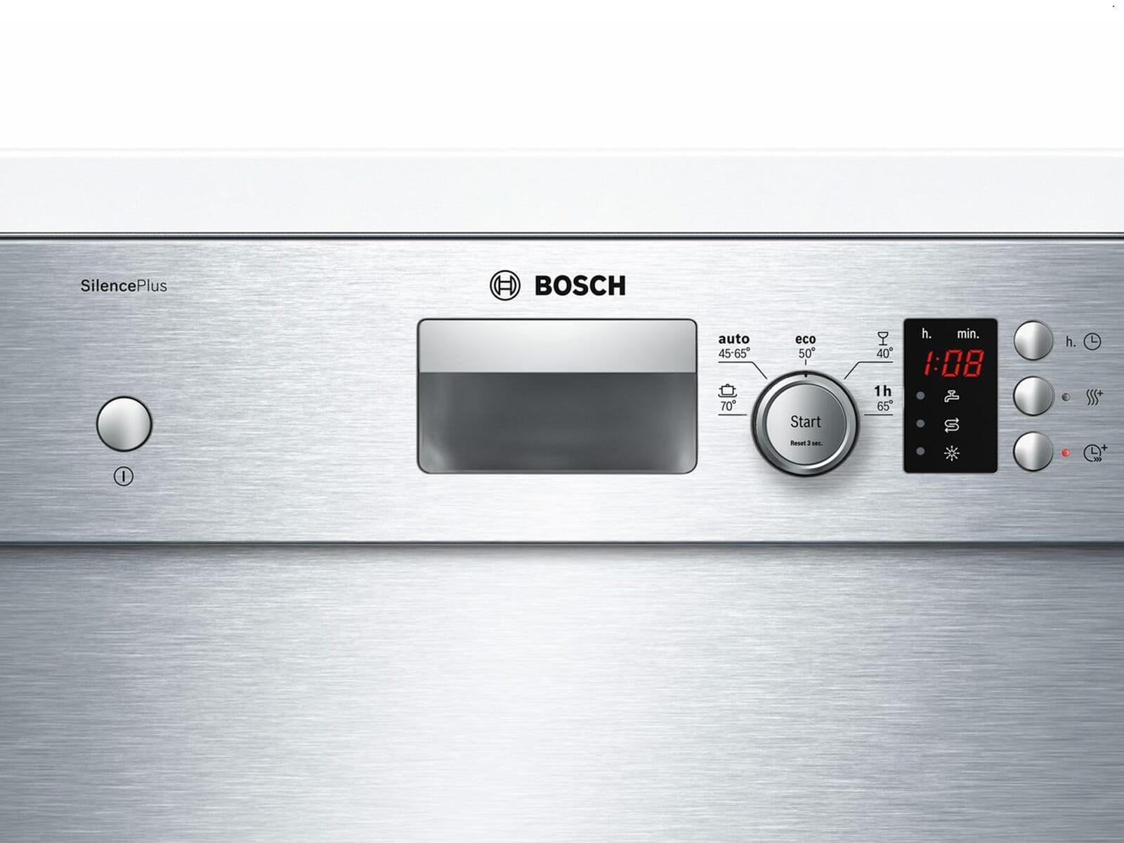 Bosch SPU25CS03E Unterbaugeschirrspüler Edelstahl