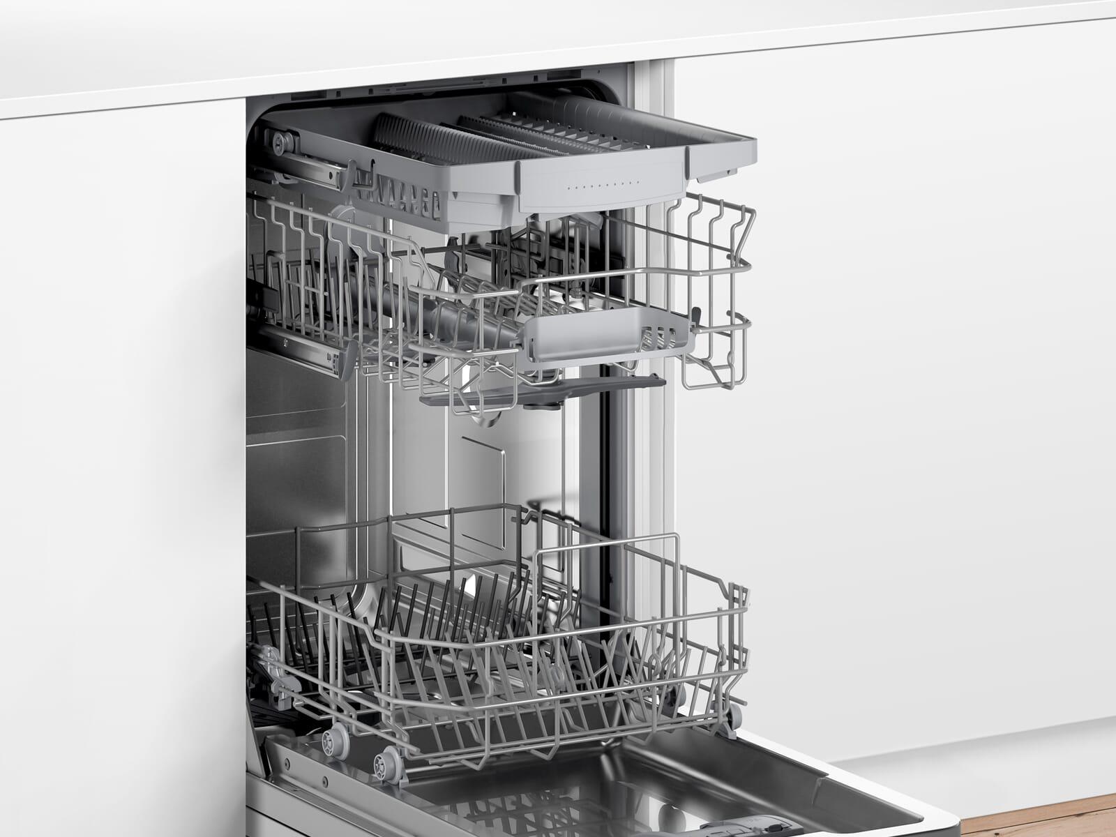 Bosch SPV2XMX01E Vollintegrierbarer Einbaugeschirrspüler