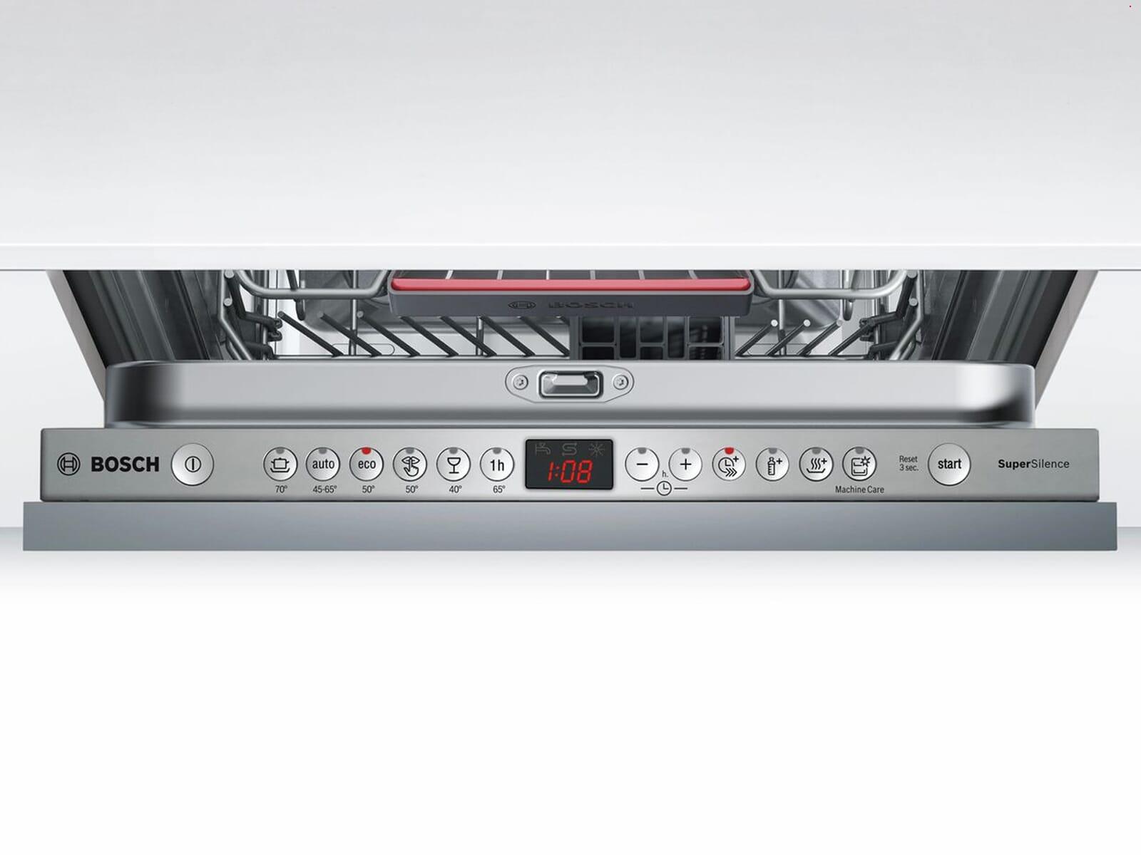 Bosch SPV46IX01E Vollintegrierbarer Einbaugeschirrspüler
