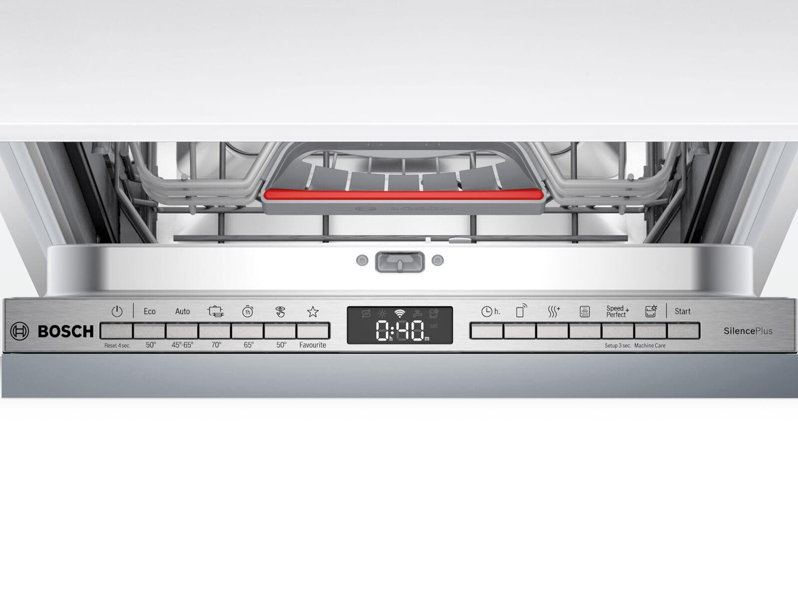 Bosch SPV4HMX61E Vollintegrierbarer Einbaugeschirrspüler