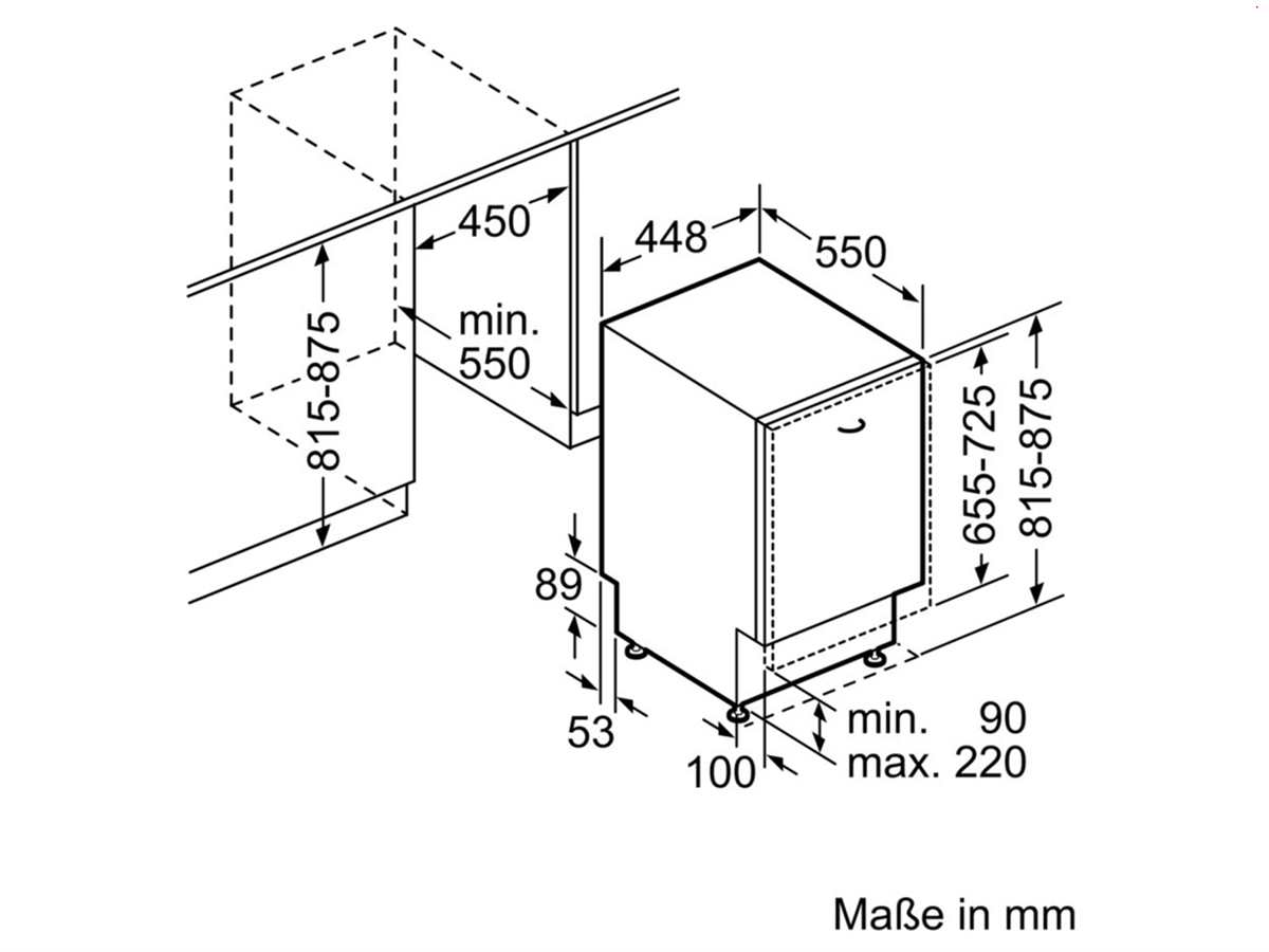 Bosch SPV66PD00E Vollintegrierbarer Einbaugeschirrspüler
