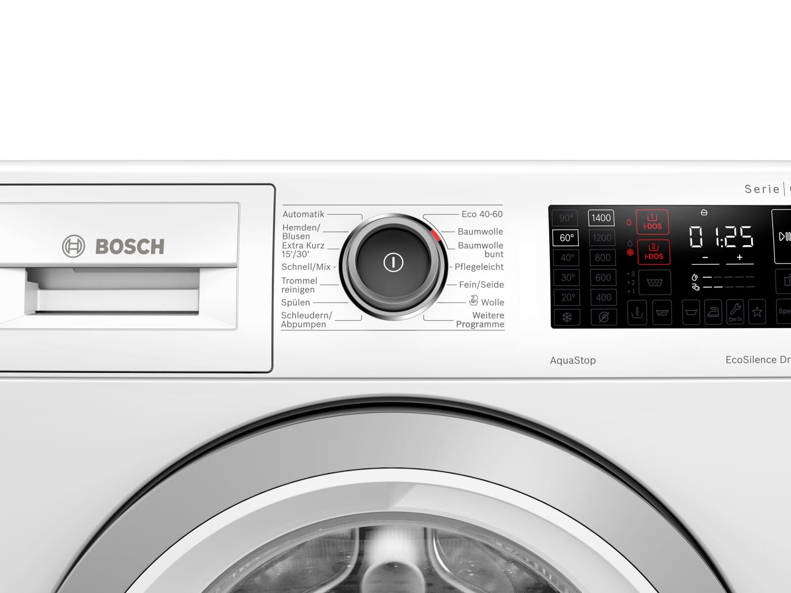 Bosch WAU28P40 Waschmaschine Weiß