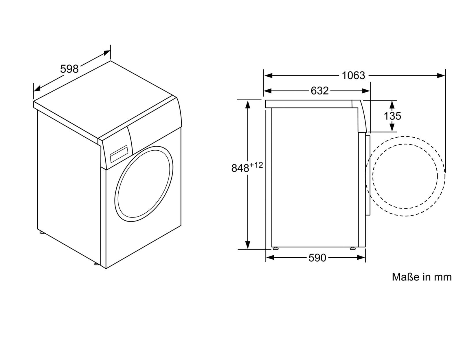 Favorit Bosch WAW32541 Waschmaschine Weiß PF35