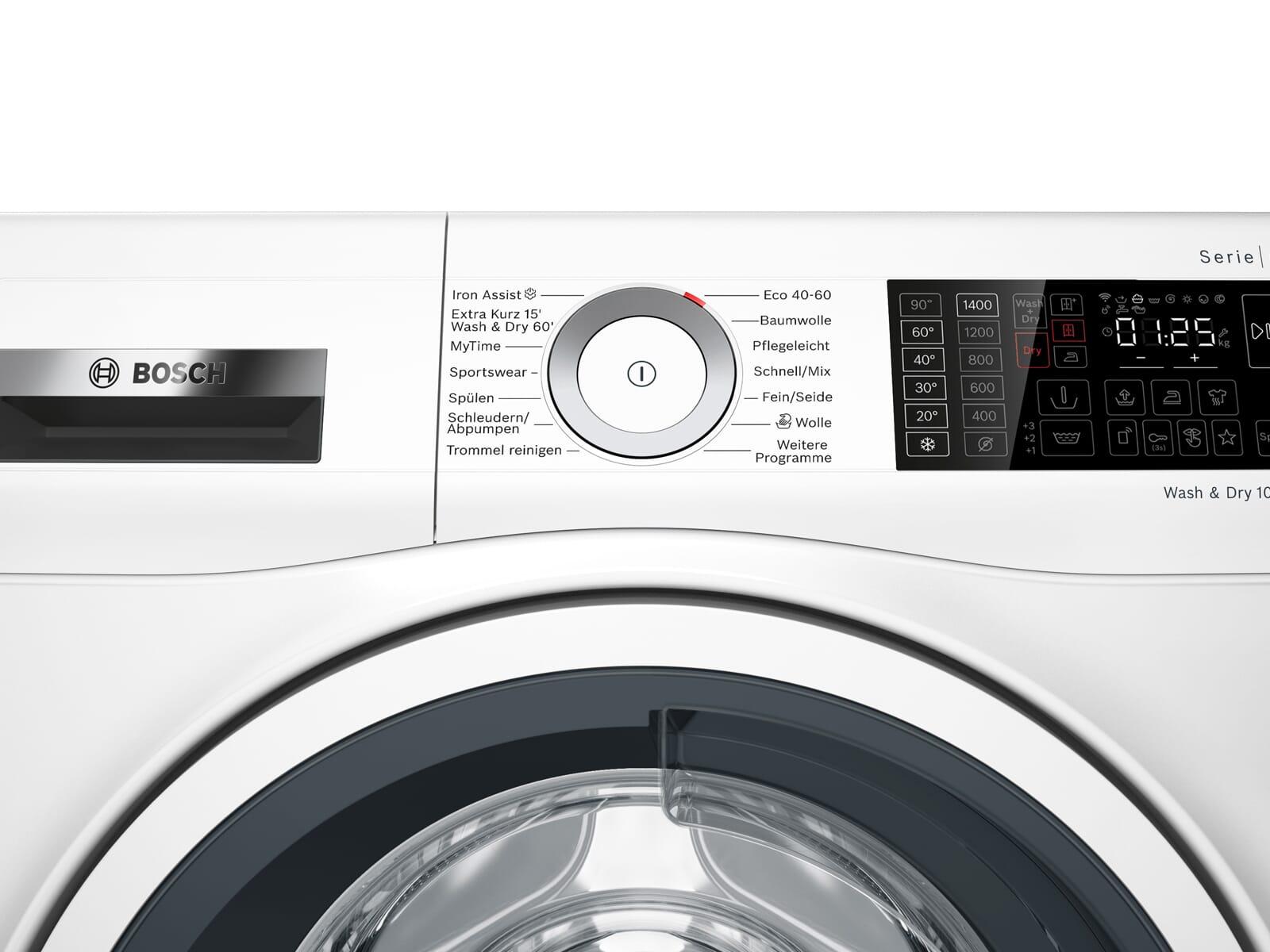Bosch WDU28512 Waschtrockner Weiß