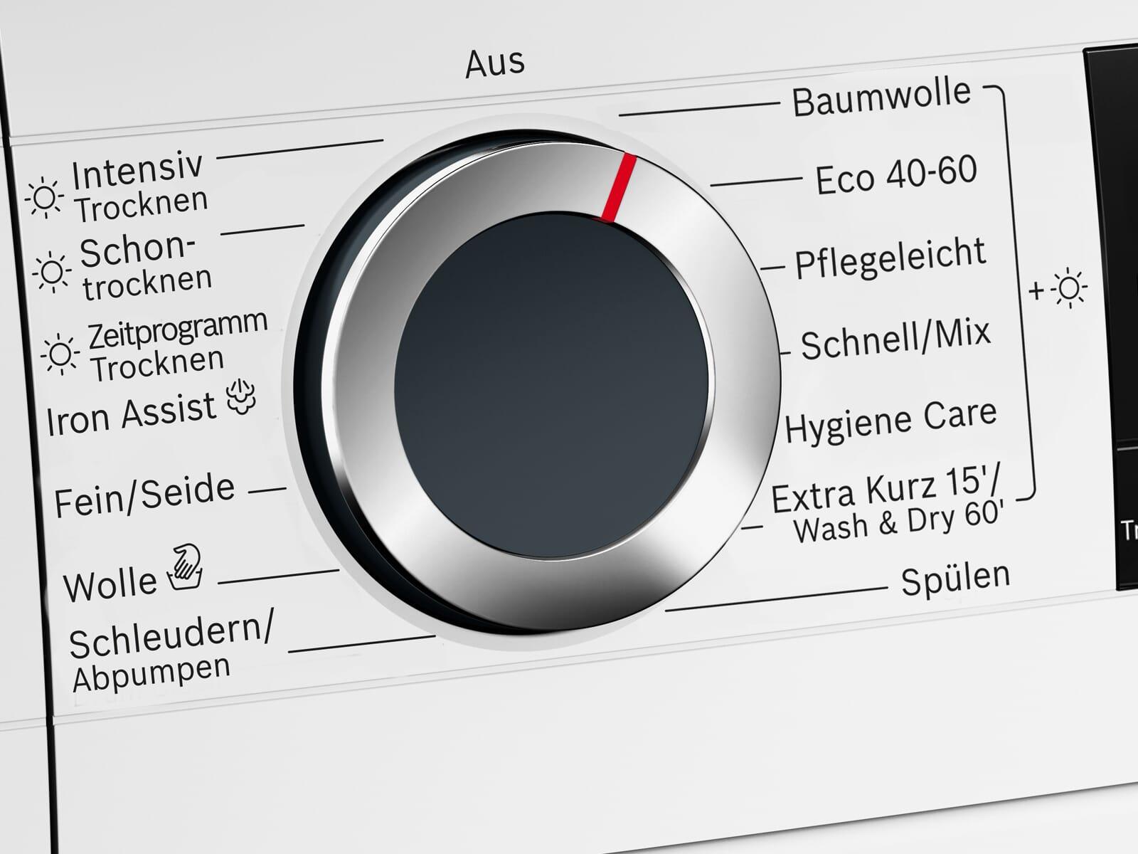 Bosch WNG24440 Waschtrockner Weiß