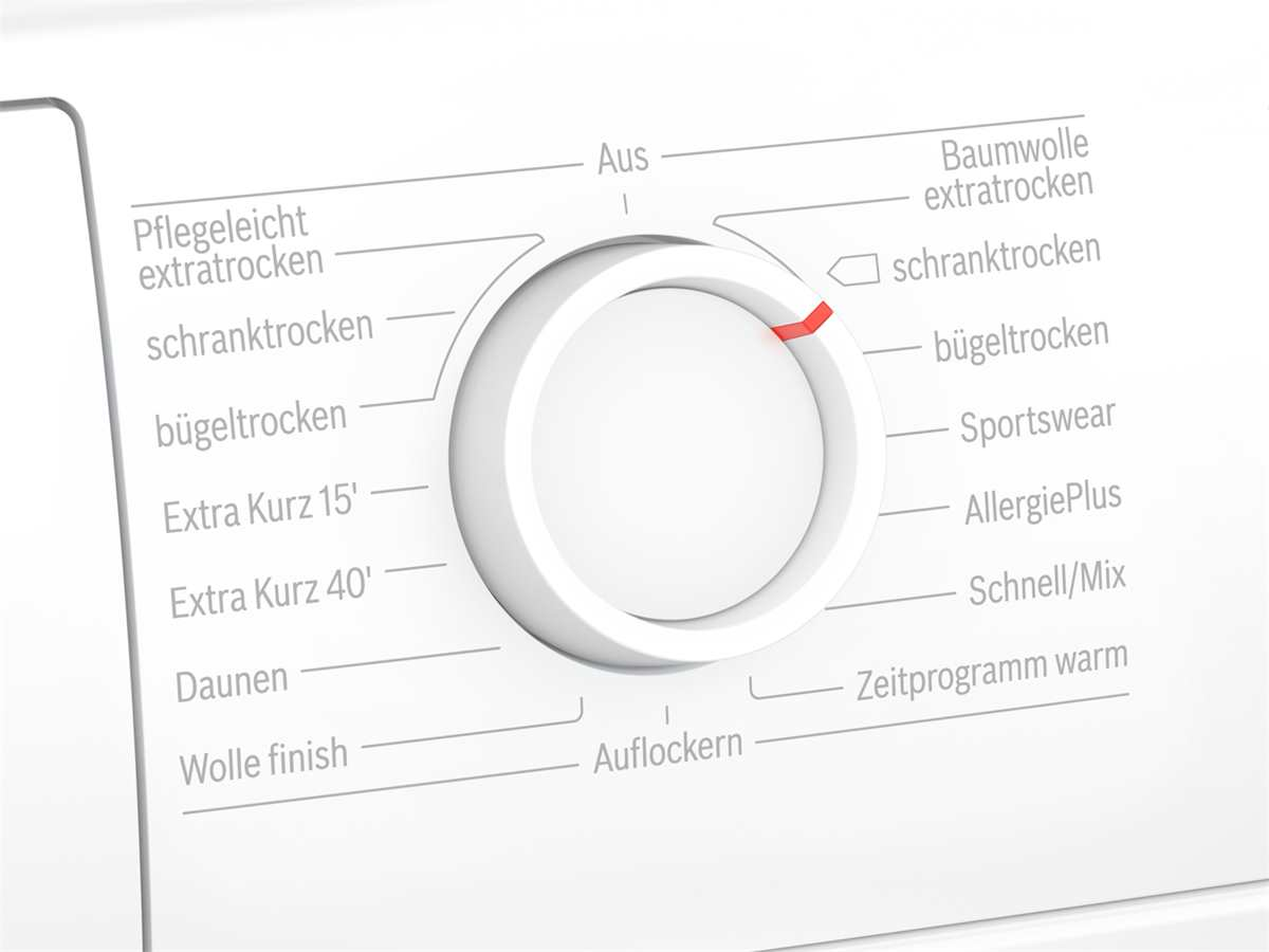 Bosch WTG86402 Trockner Weiß