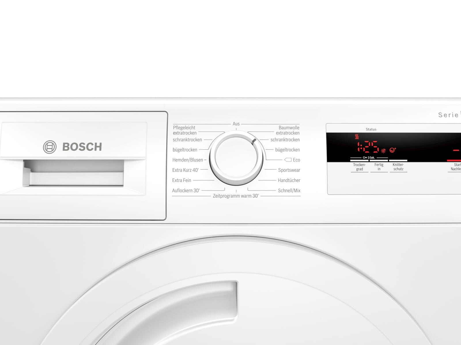 Bosch WTH83002 Trockner Weiß